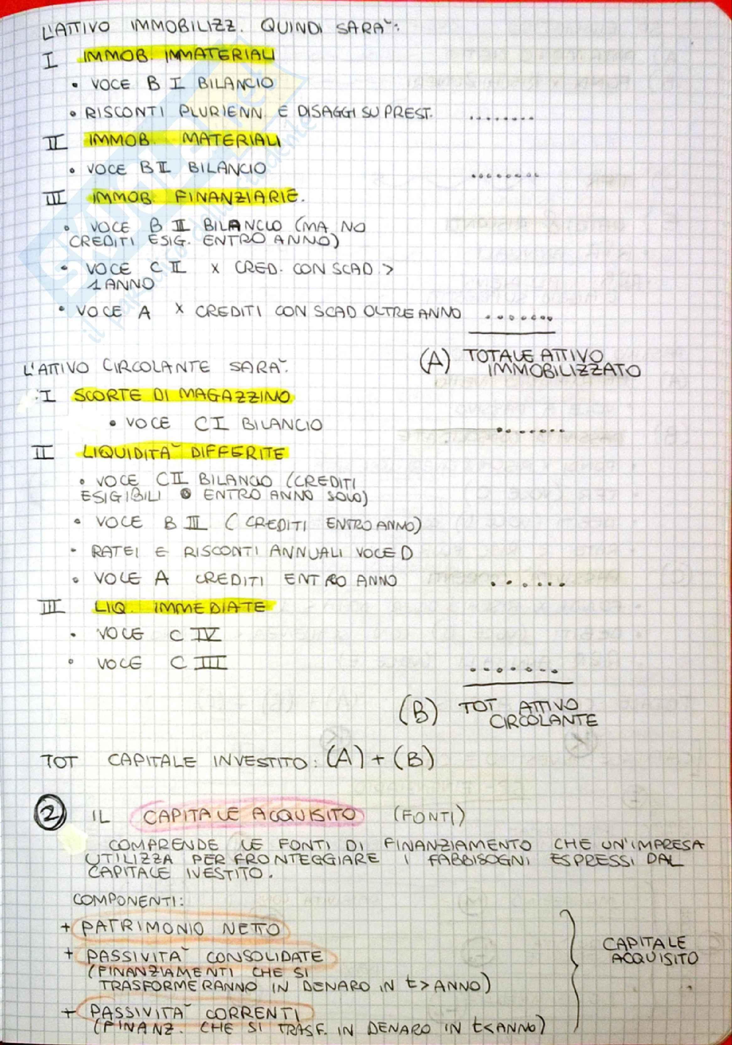 Analisi di bilancio, Ragioneria Pag. 2