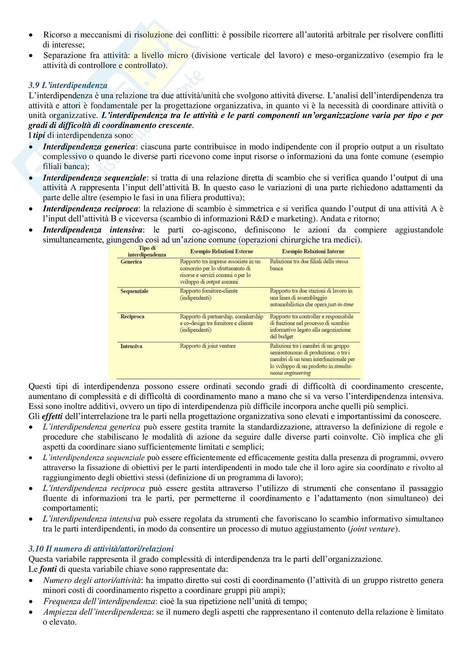 Riassunto Organizzazione delle Aziende Pag. 26