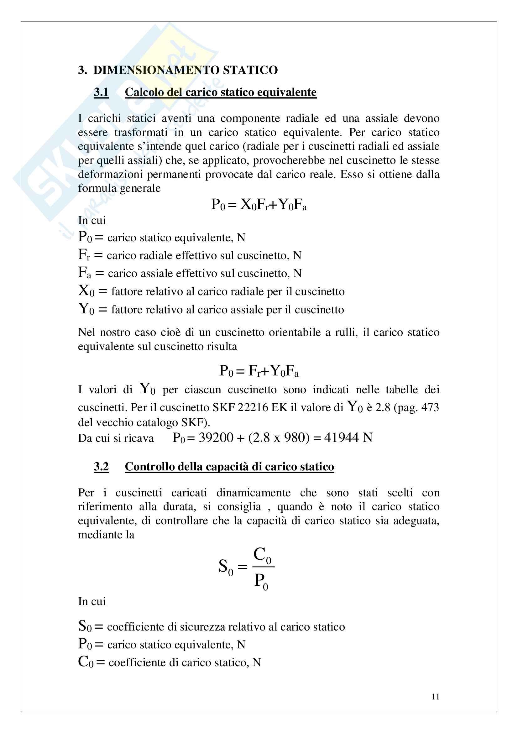 Scelta di cuscinetti per ventilatore centrifugo Pag. 11