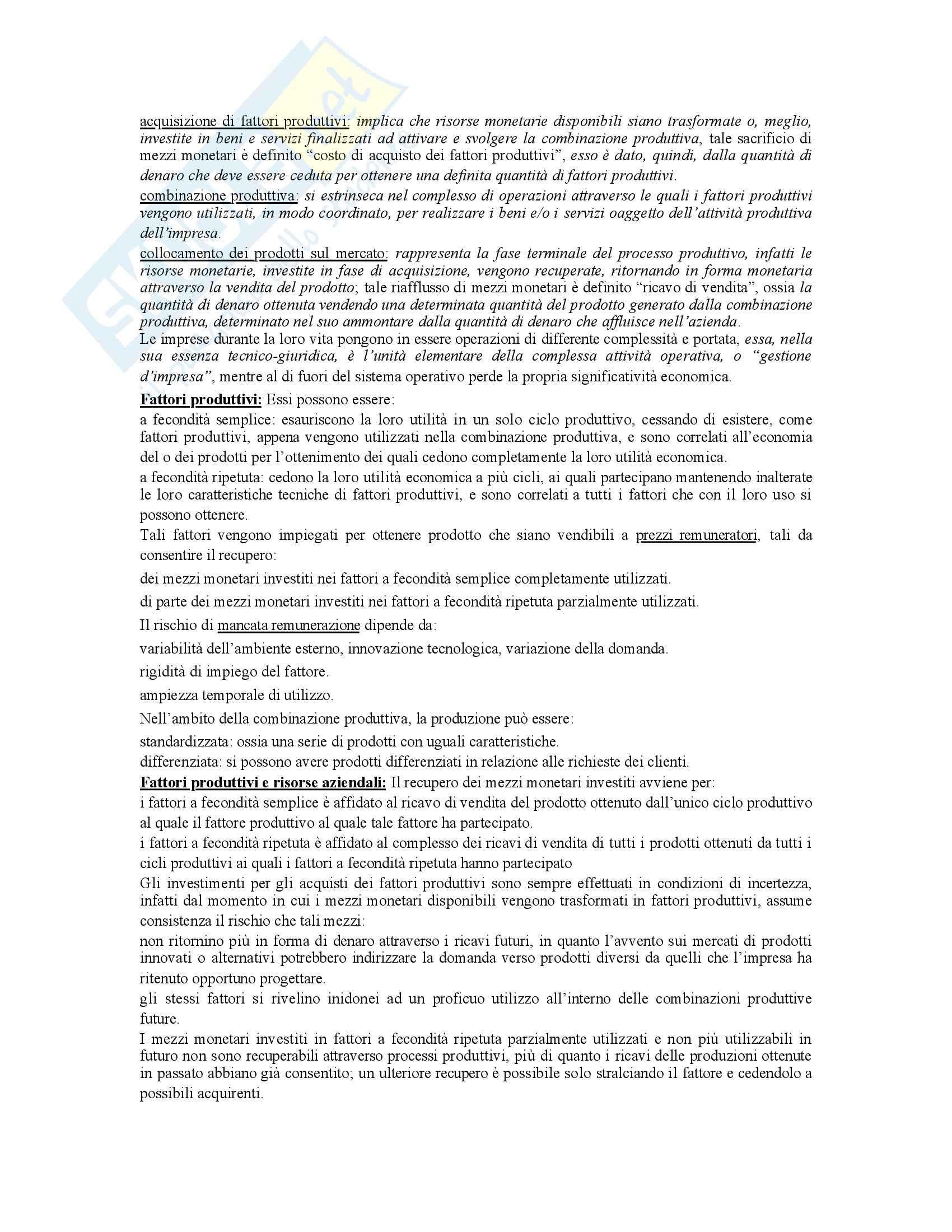 Economia aziendale - Dispensa Pag. 6