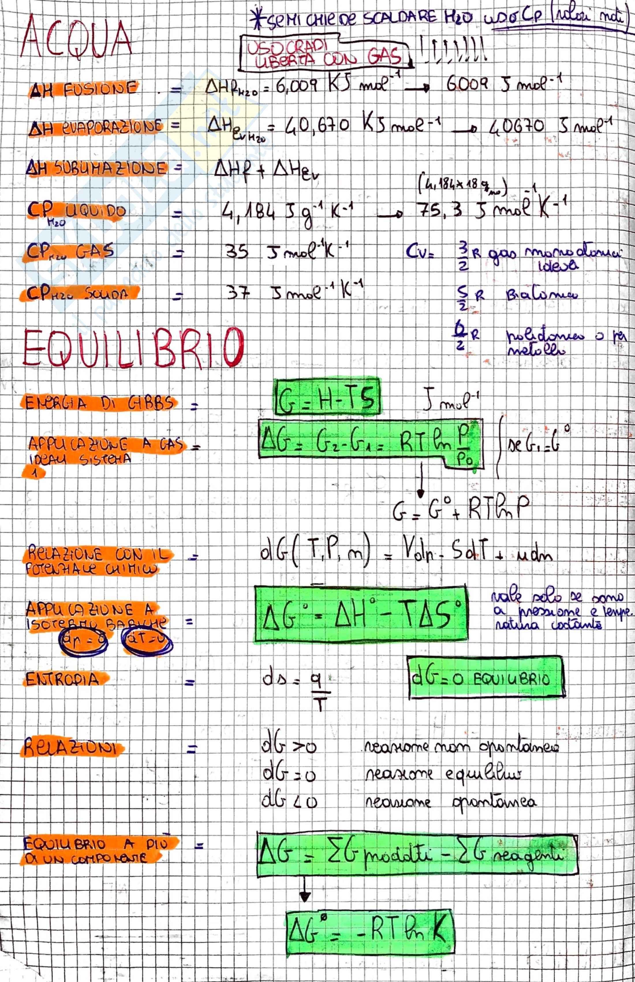 Formulario Chimica fisica Pag. 2