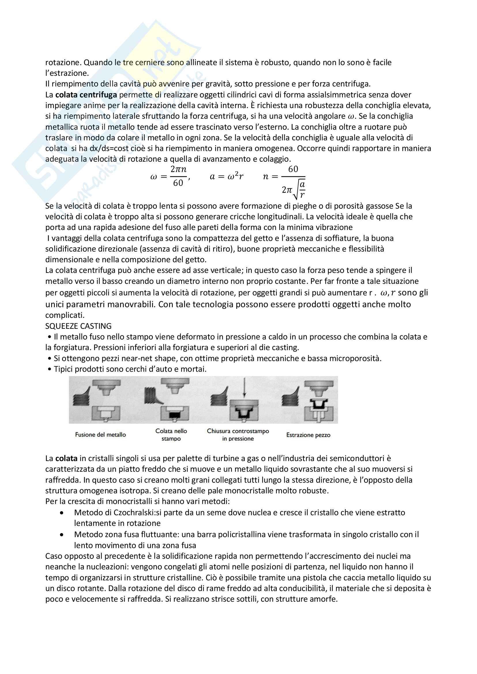 Sintesi tecnologia dei processi produttivi Pag. 26