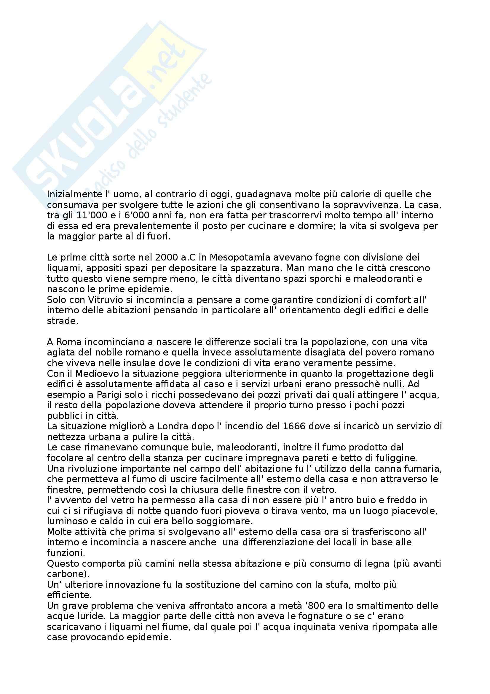 Riassunto esame Strumenti e Tecniche per il Controllo Ambientale, prof. Fontana, libro consigliato Dalla Caverna alla Casa Ecologica di Butera
