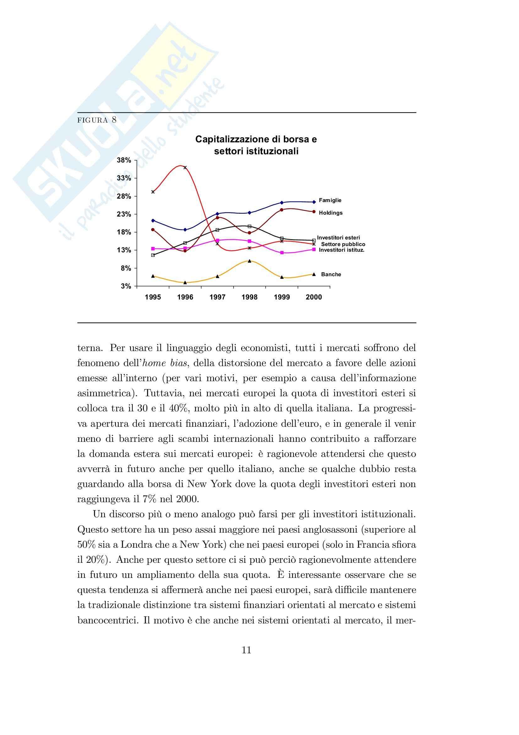 Economia finanziaria - la finanziarizzazione dell'economia italiana Pag. 11