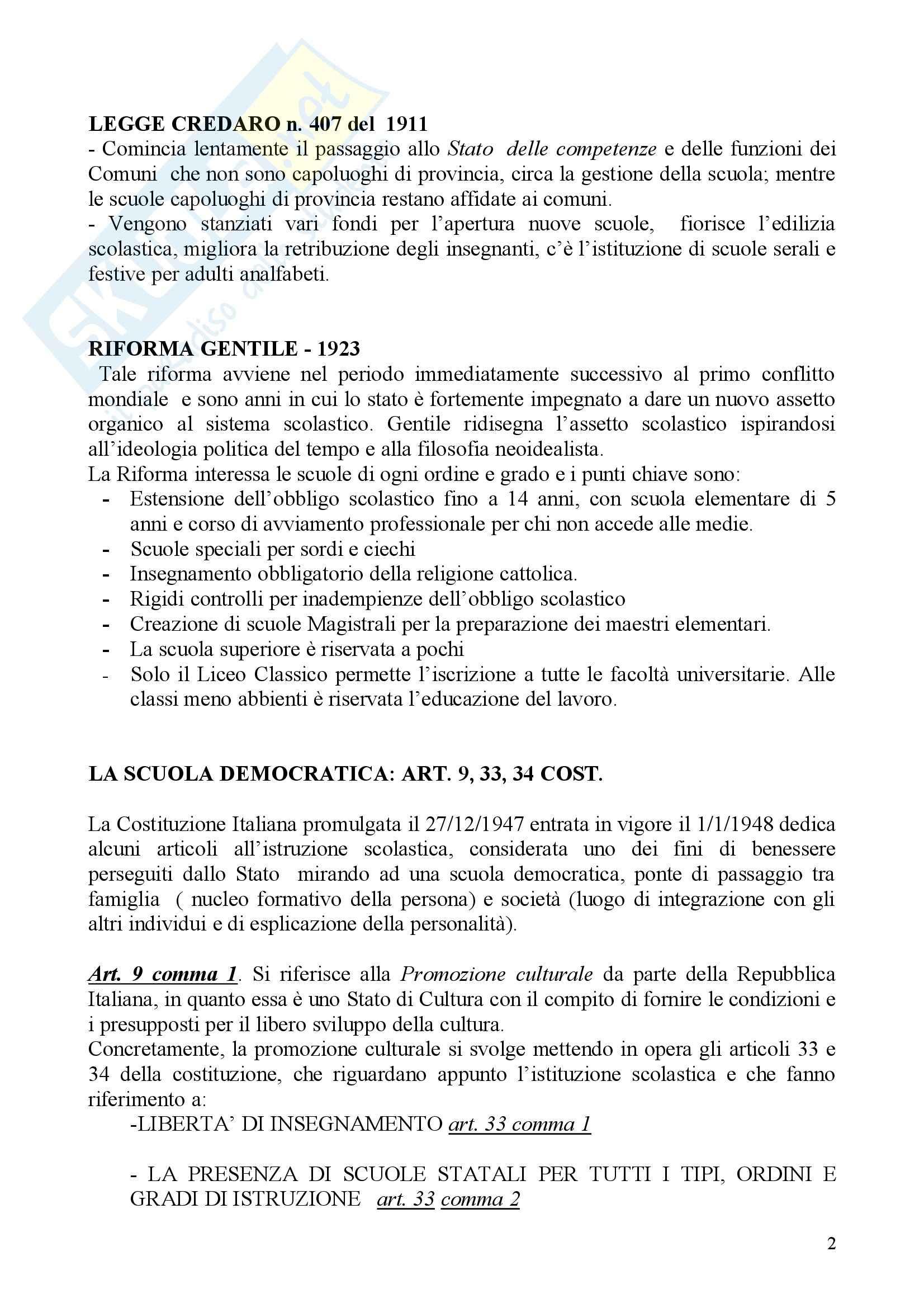 Diritto scolastico Pag. 2