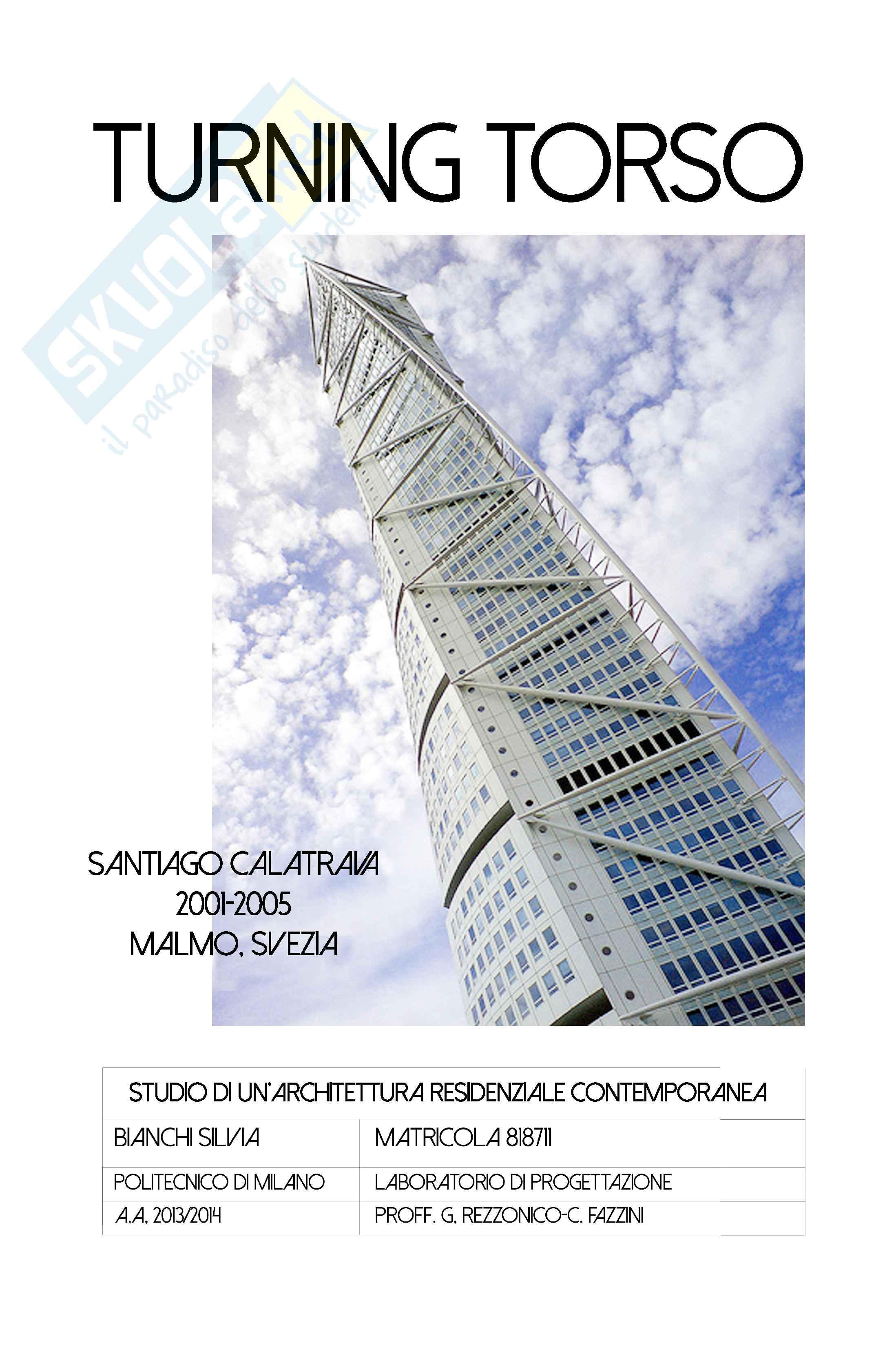 Turning Torso, Calatrava: studio di un'architettura contemporanea