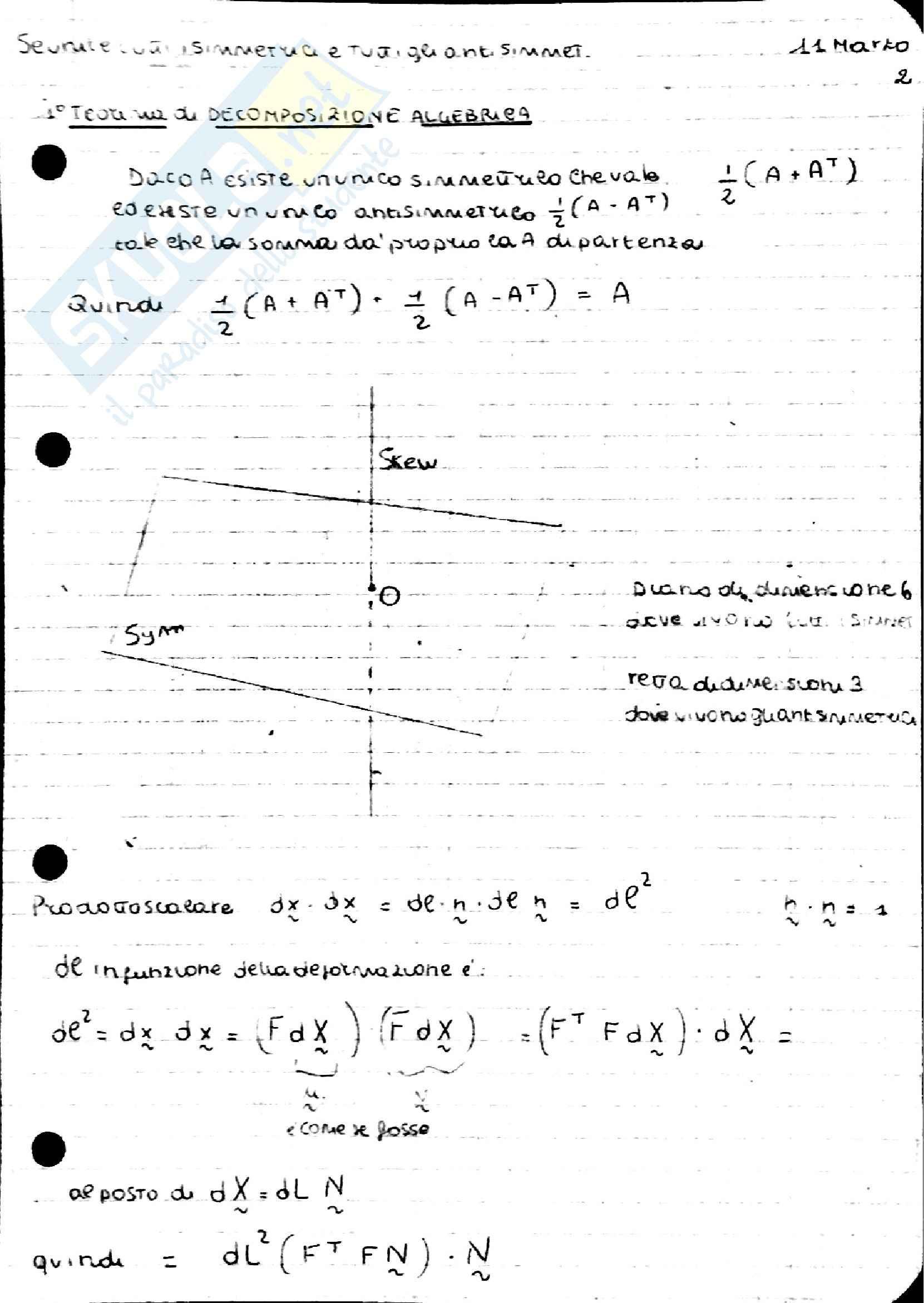 Teoria Scienza delle Costruzioni Pag. 11