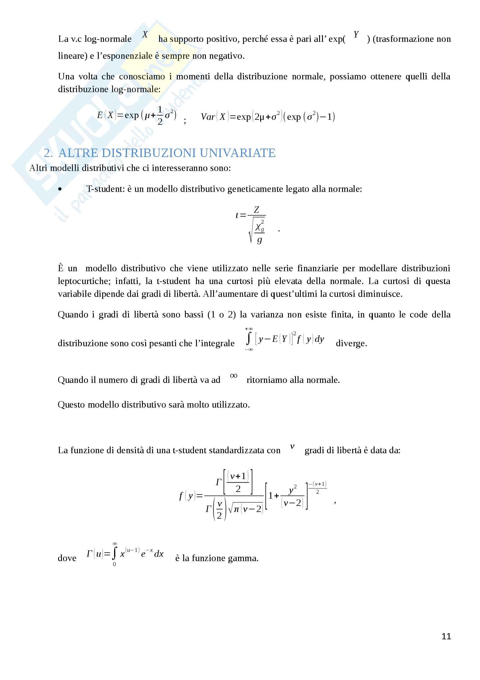 Appunti Finanza Quantitativa Pag. 11