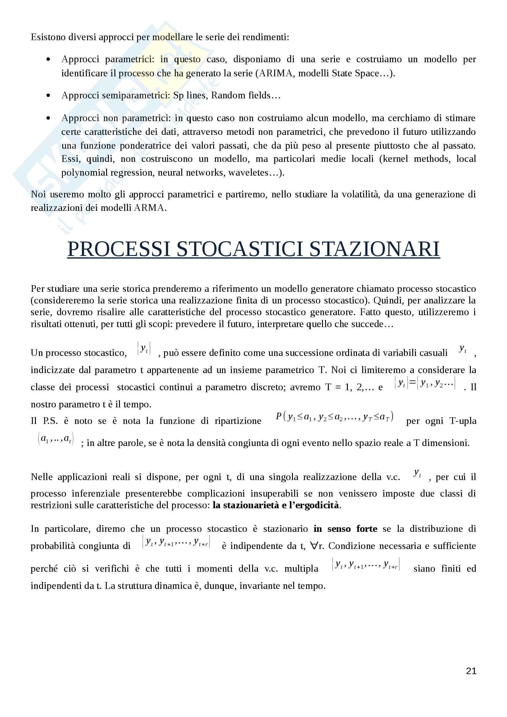 Appunti Finanza Quantitativa Pag. 21