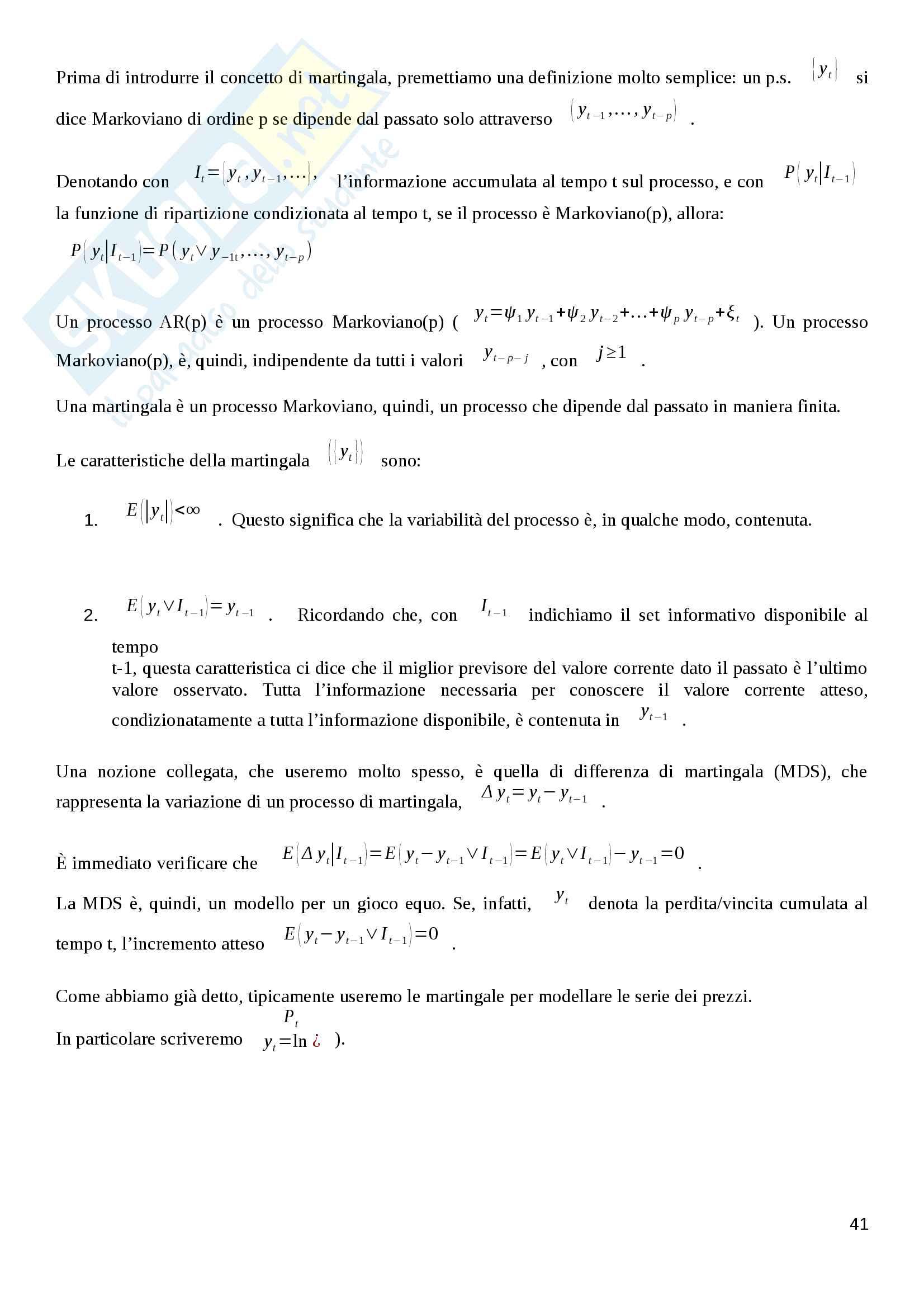 Appunti Finanza Quantitativa Pag. 41