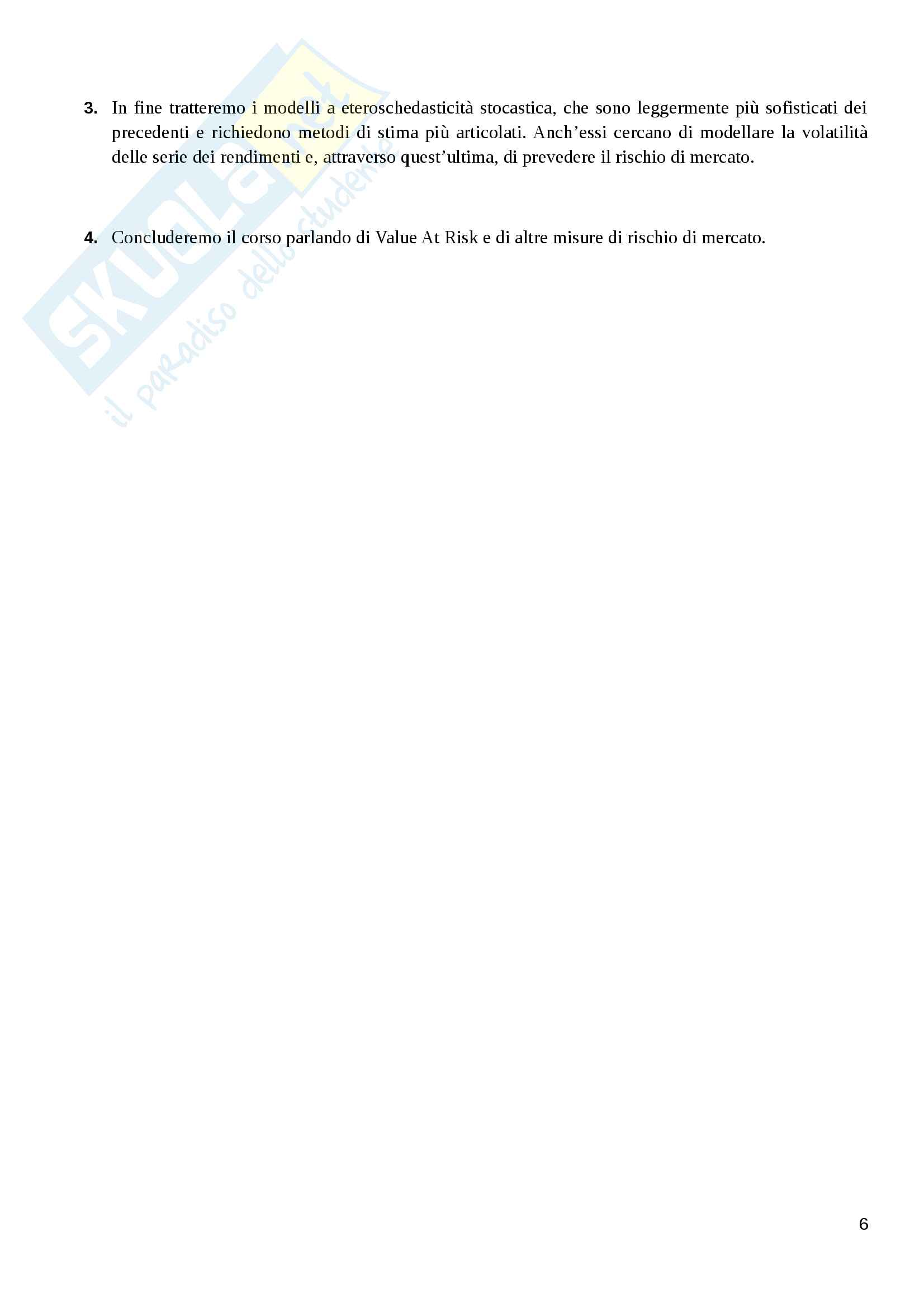 Appunti Finanza Quantitativa Pag. 6