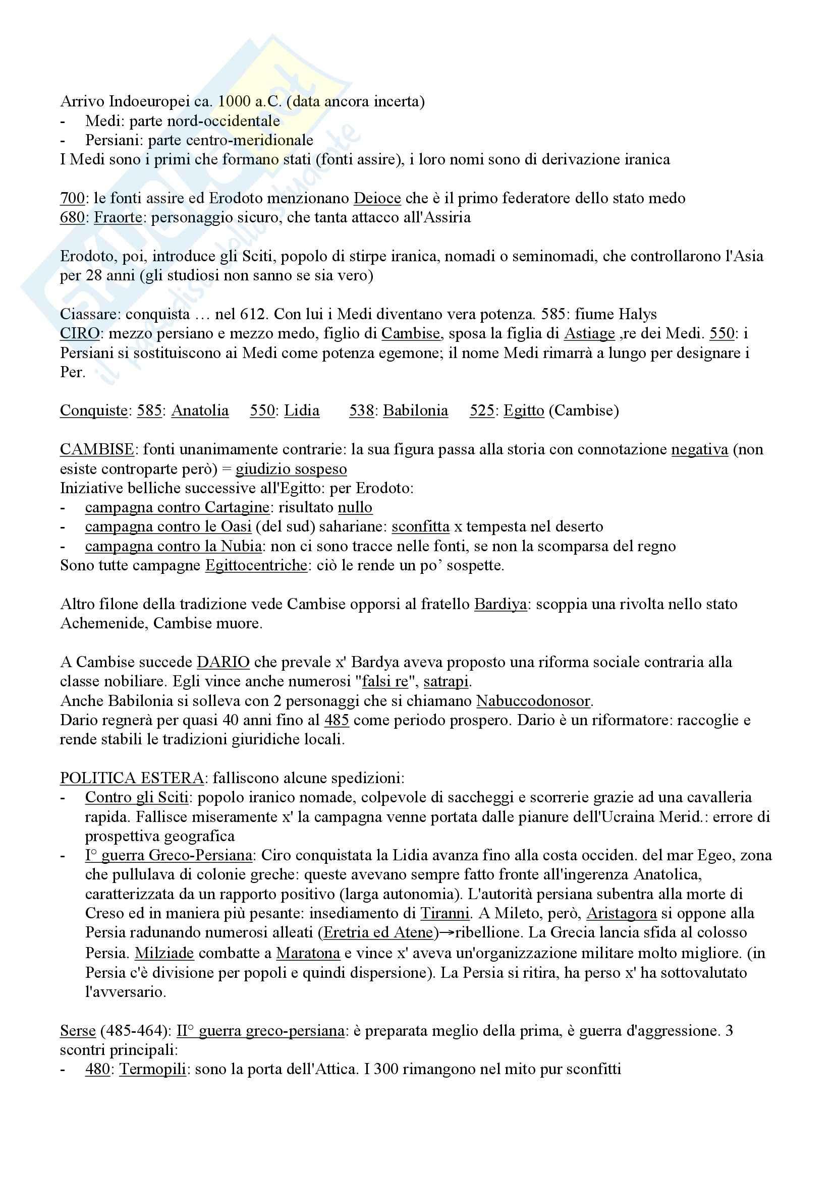 Storia del Vicino Oriente Antico - appunti Pag. 21