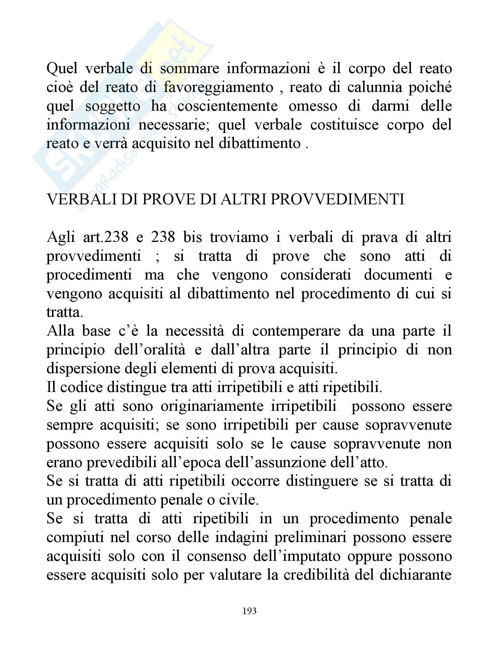 Diritto processuale penale - concetti Pag. 21