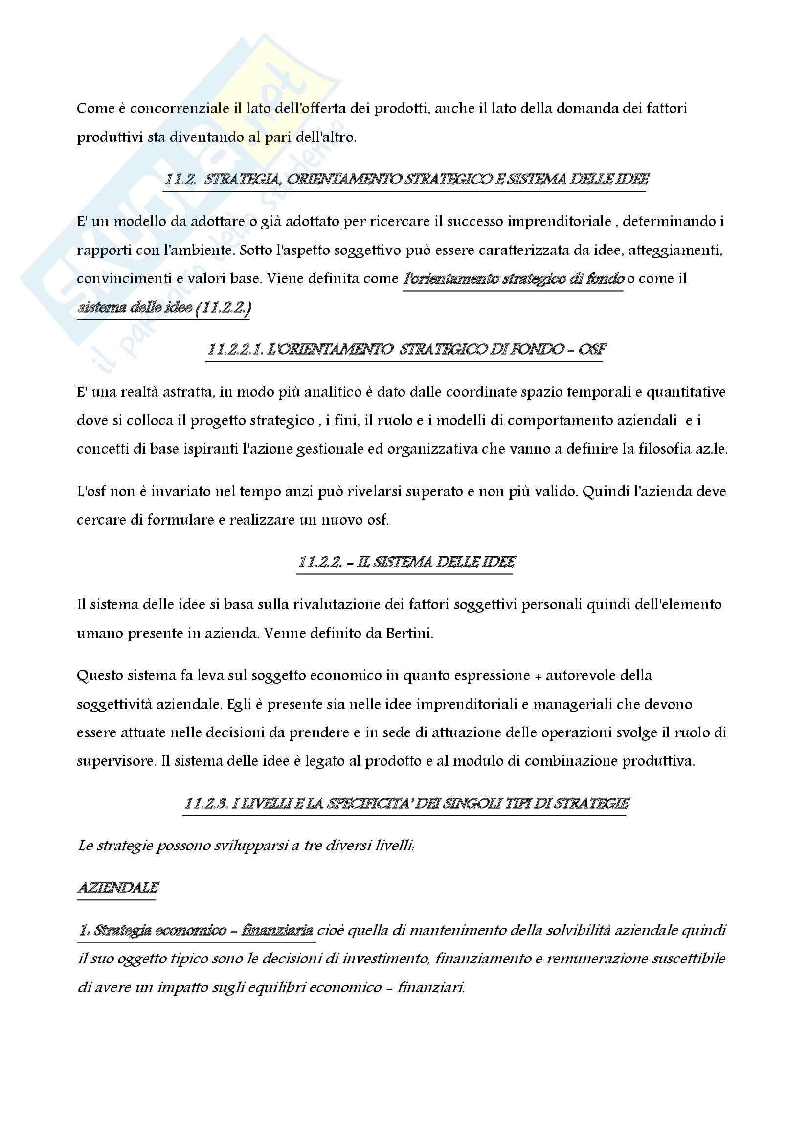 Economia aziendale - impresa e ambiente Pag. 2