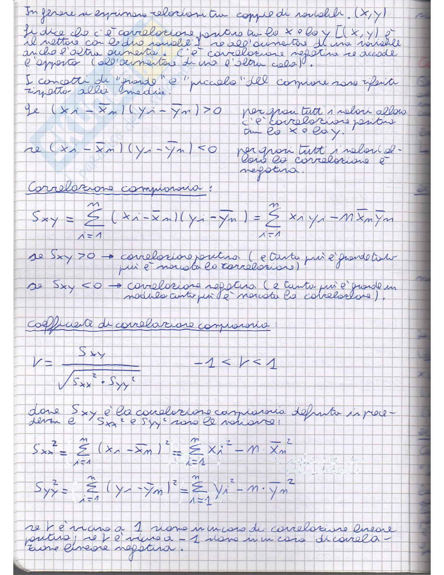 Lezioni, Statistica Pag. 6