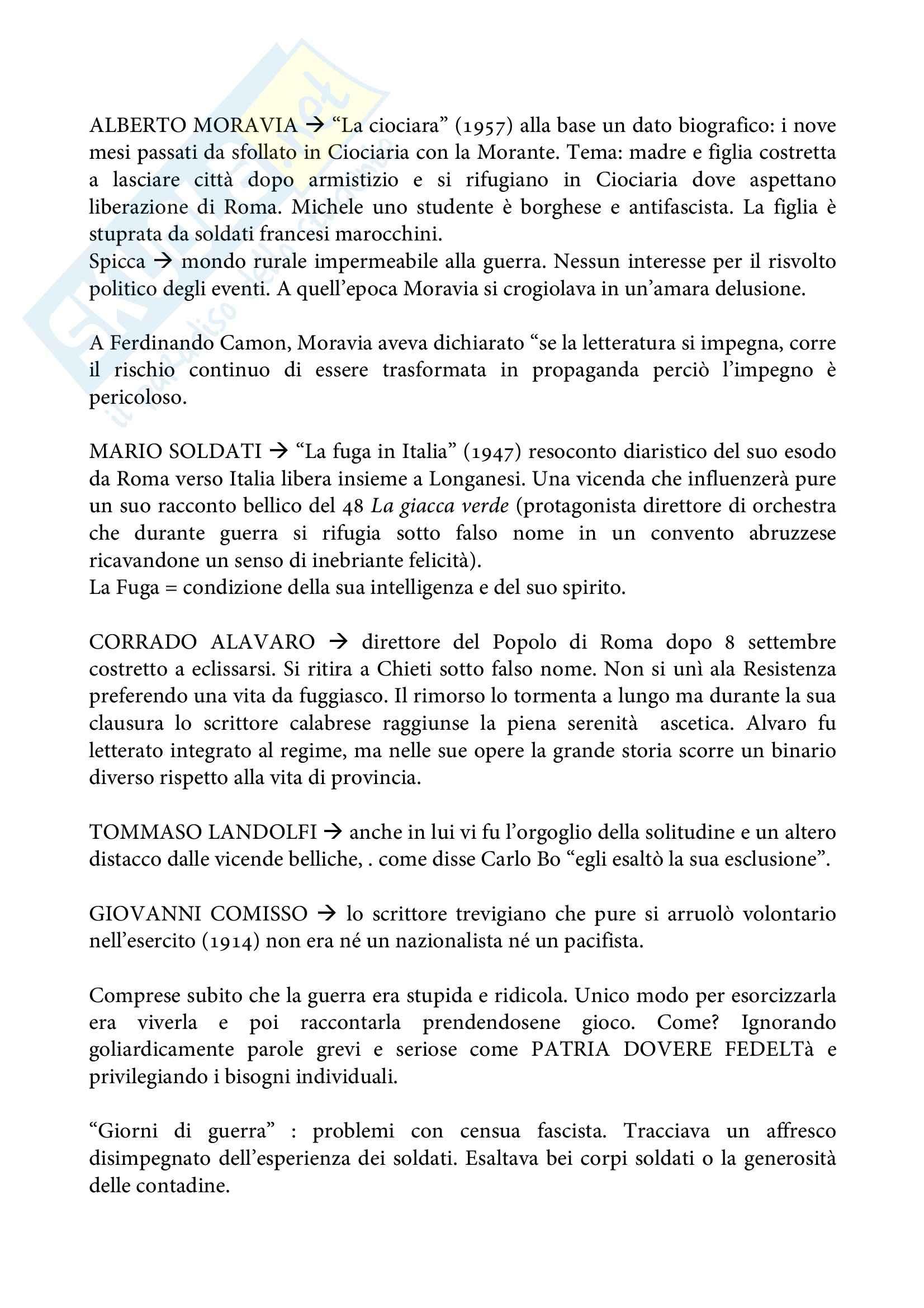 Riassunto esame Storia, prof. Piazzoni, libro consigliato Spettatori di un naufragio, Liucci Pag. 6