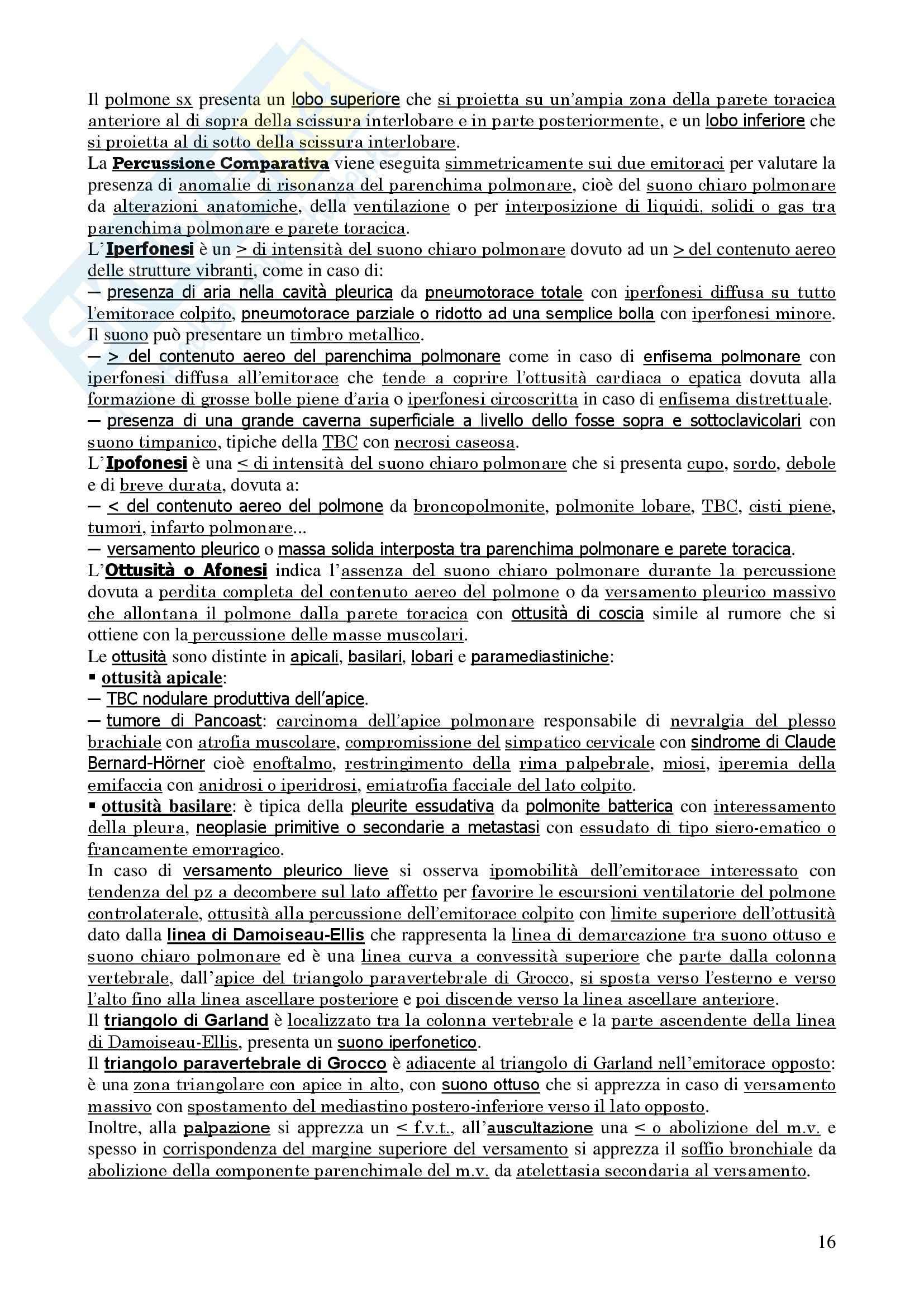 Pneumologia e Chirurgia Toracica Pag. 16