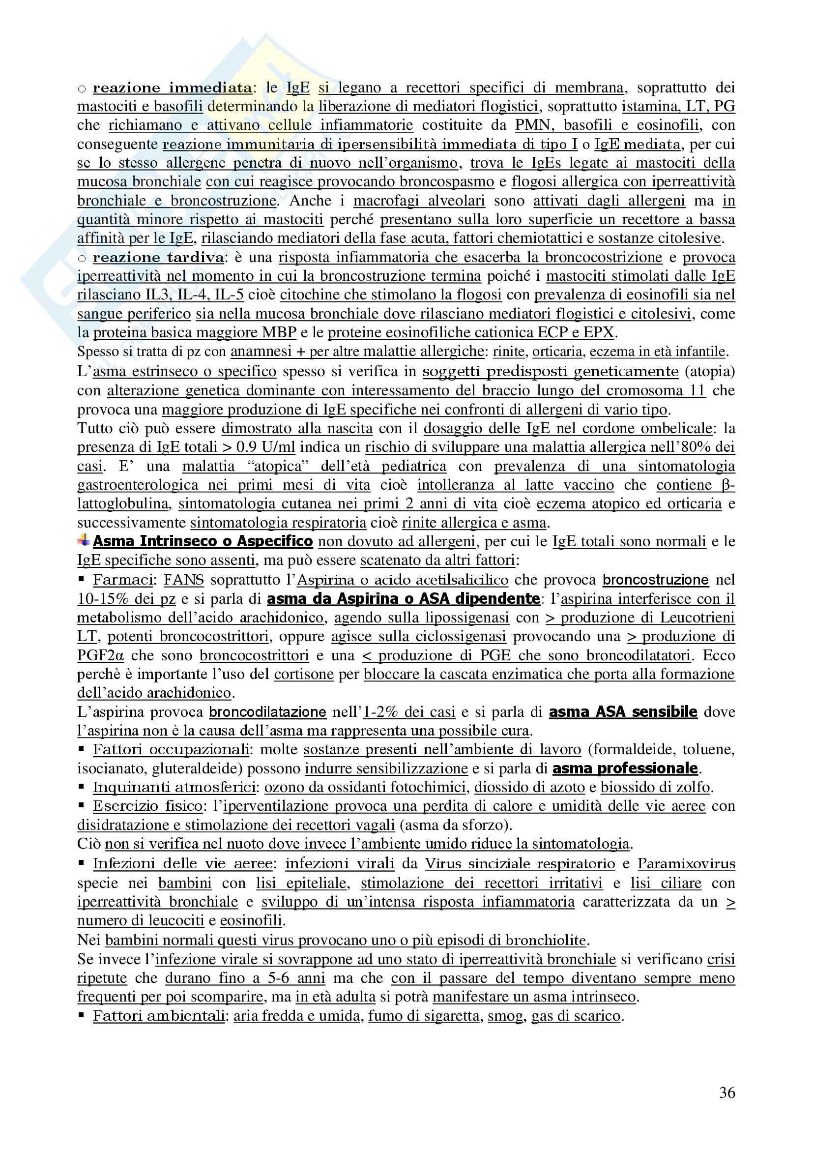 Pneumologia e Chirurgia Toracica Pag. 36