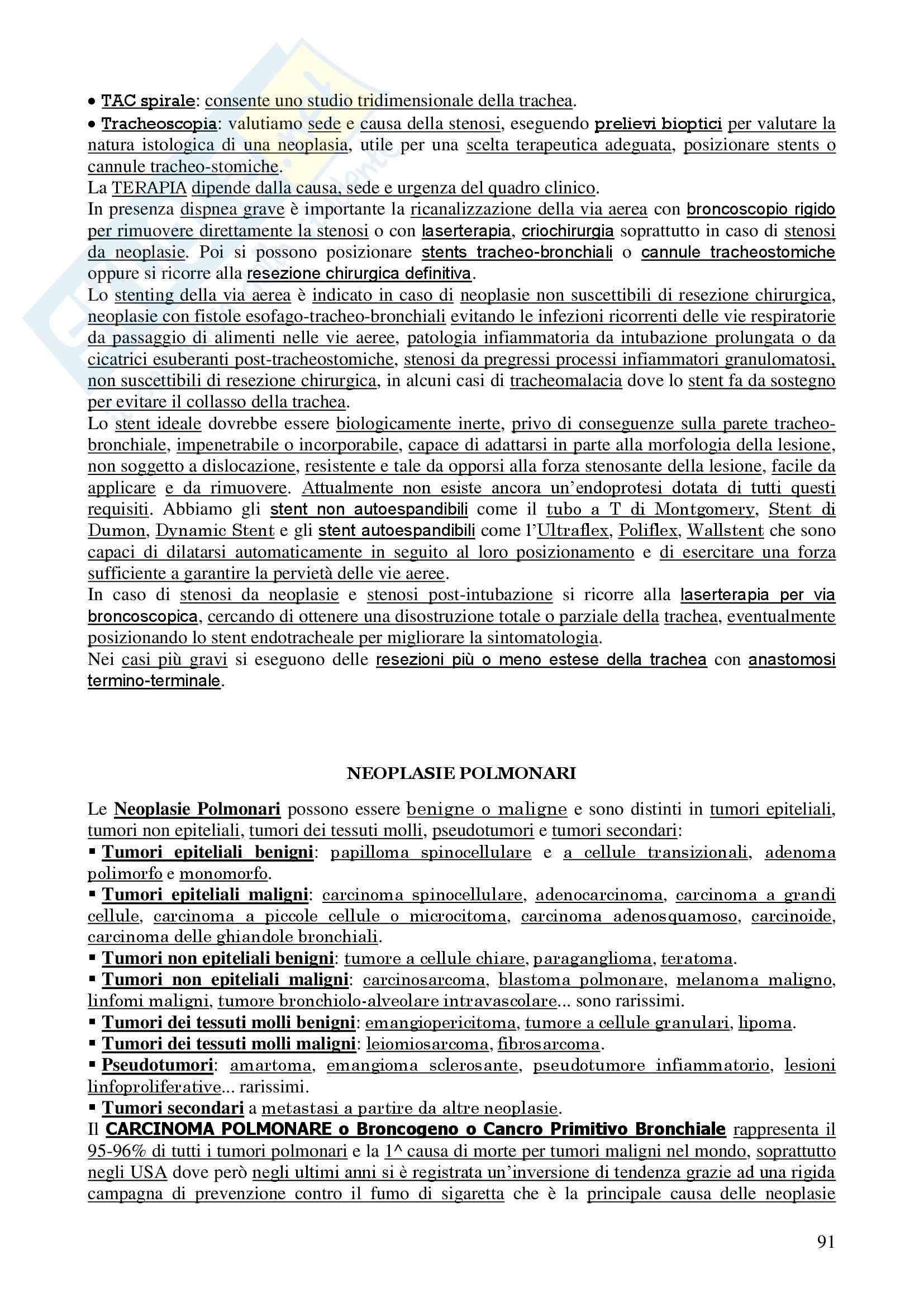 Pneumologia e Chirurgia Toracica Pag. 91