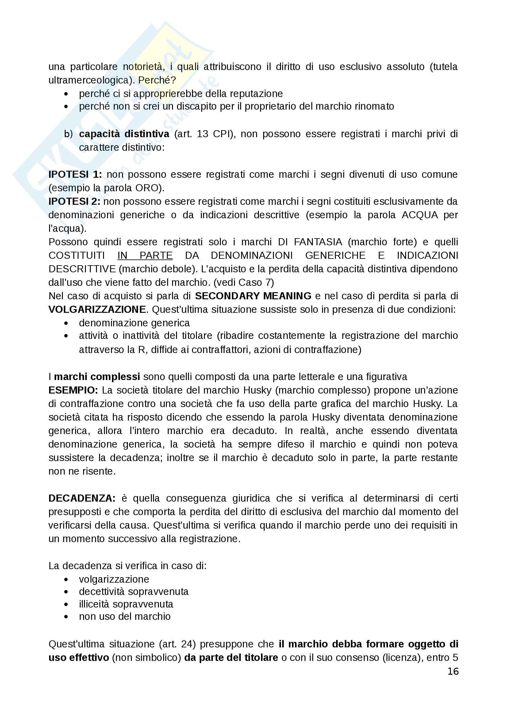 Diritto commerciale - Appunti Pag. 16