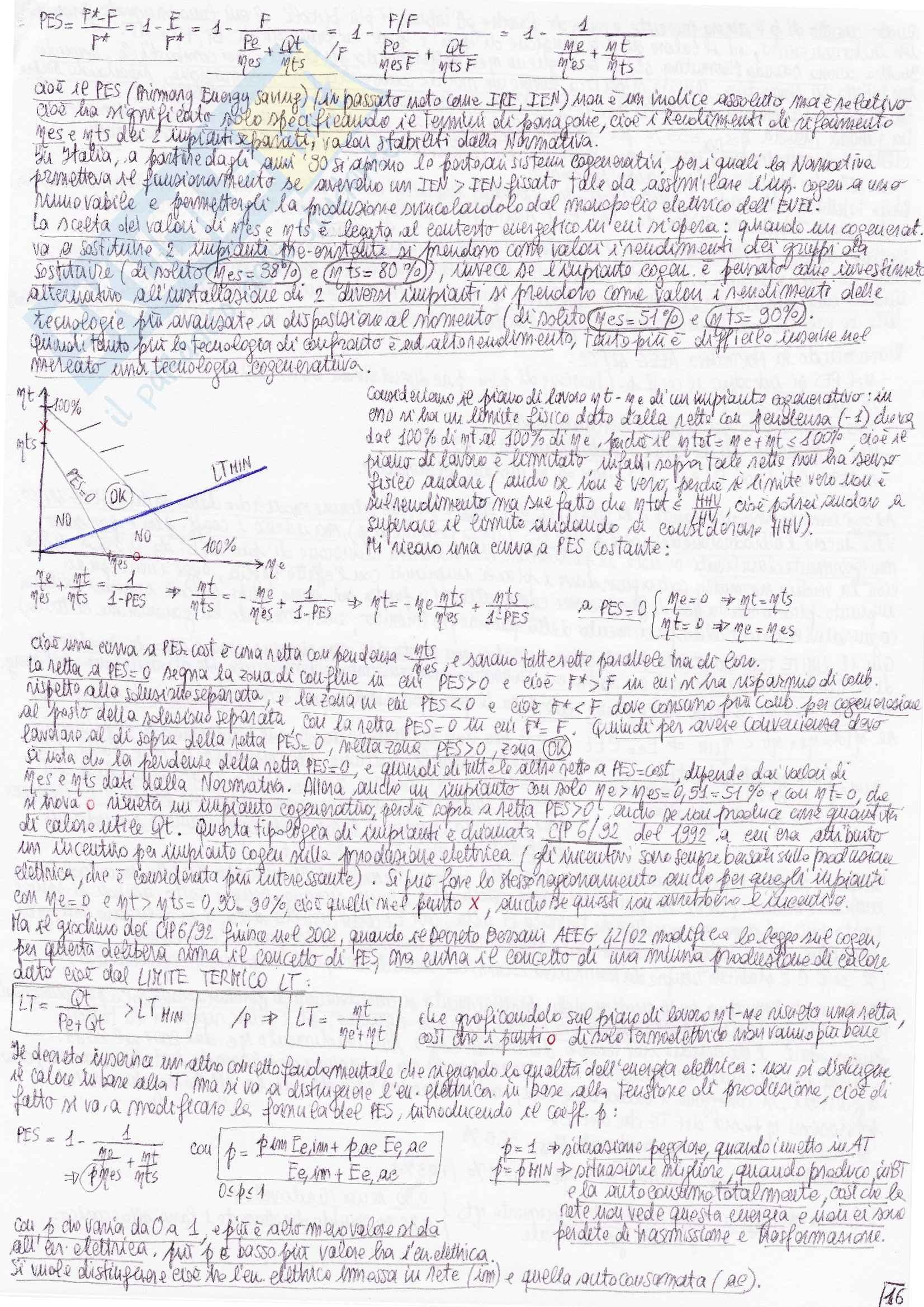 Riassunto esame Sistemi Energetici Avanzati e Cogenerazione, prof. Bianchi Pag. 31