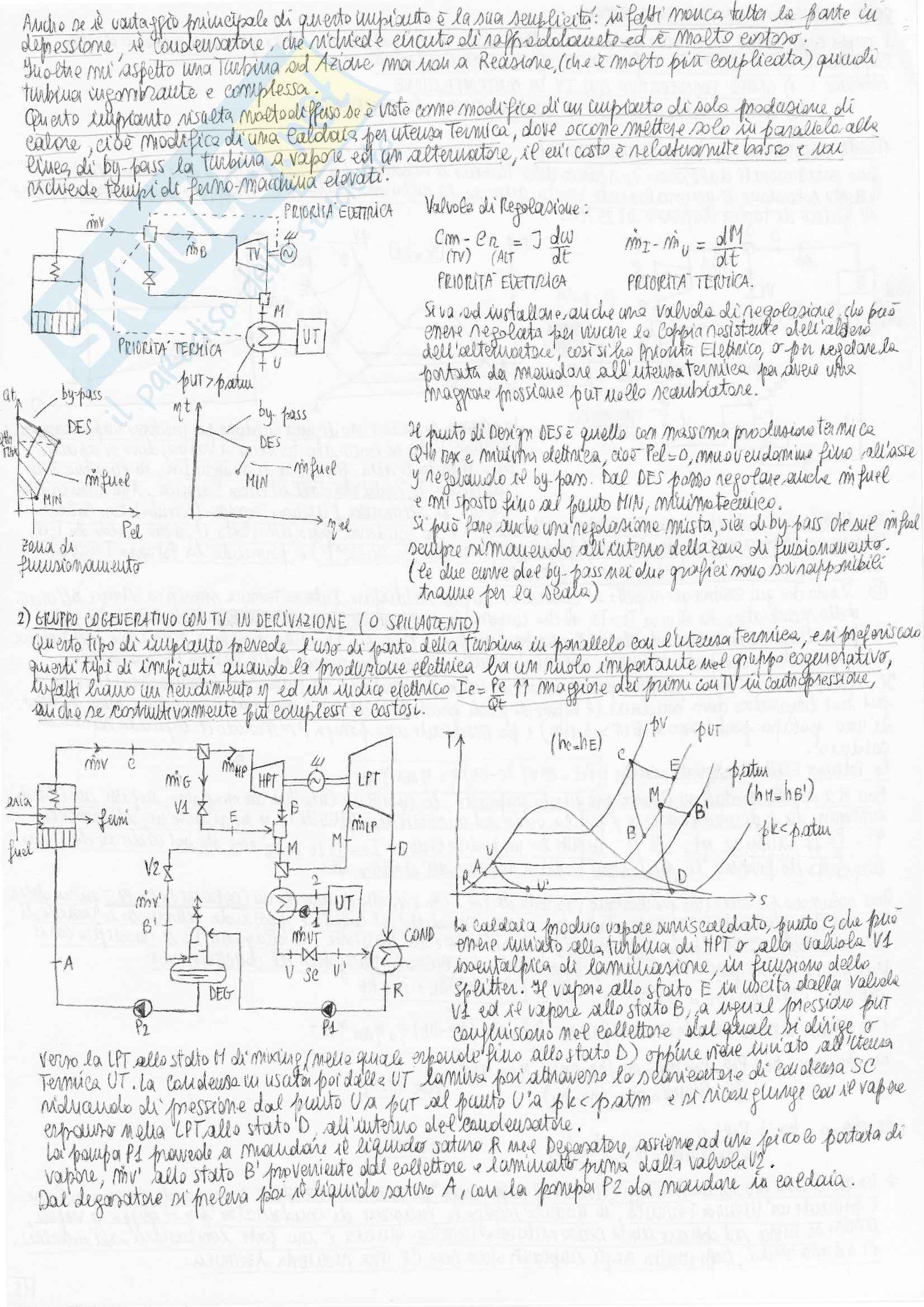 Riassunto esame Sistemi Energetici Avanzati e Cogenerazione, prof. Bianchi Pag. 36