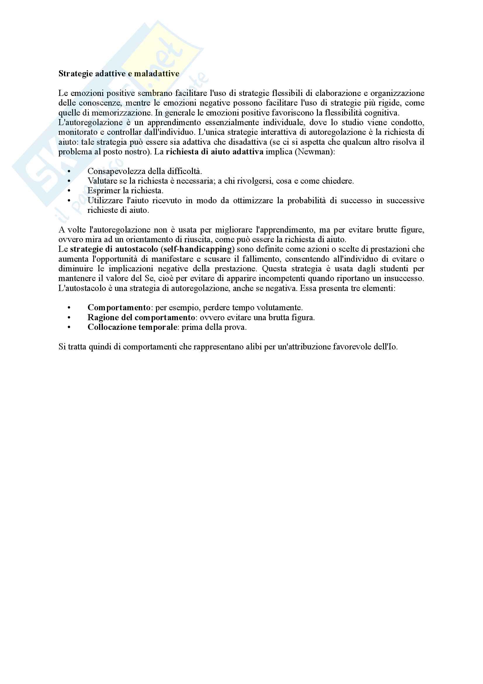 Riassunto esame Psicologia dell'Educazione, prof. Pinto, libro consigliato Psicologia dell'Apprendimento e dell'Istruzione, Mason Pag. 21