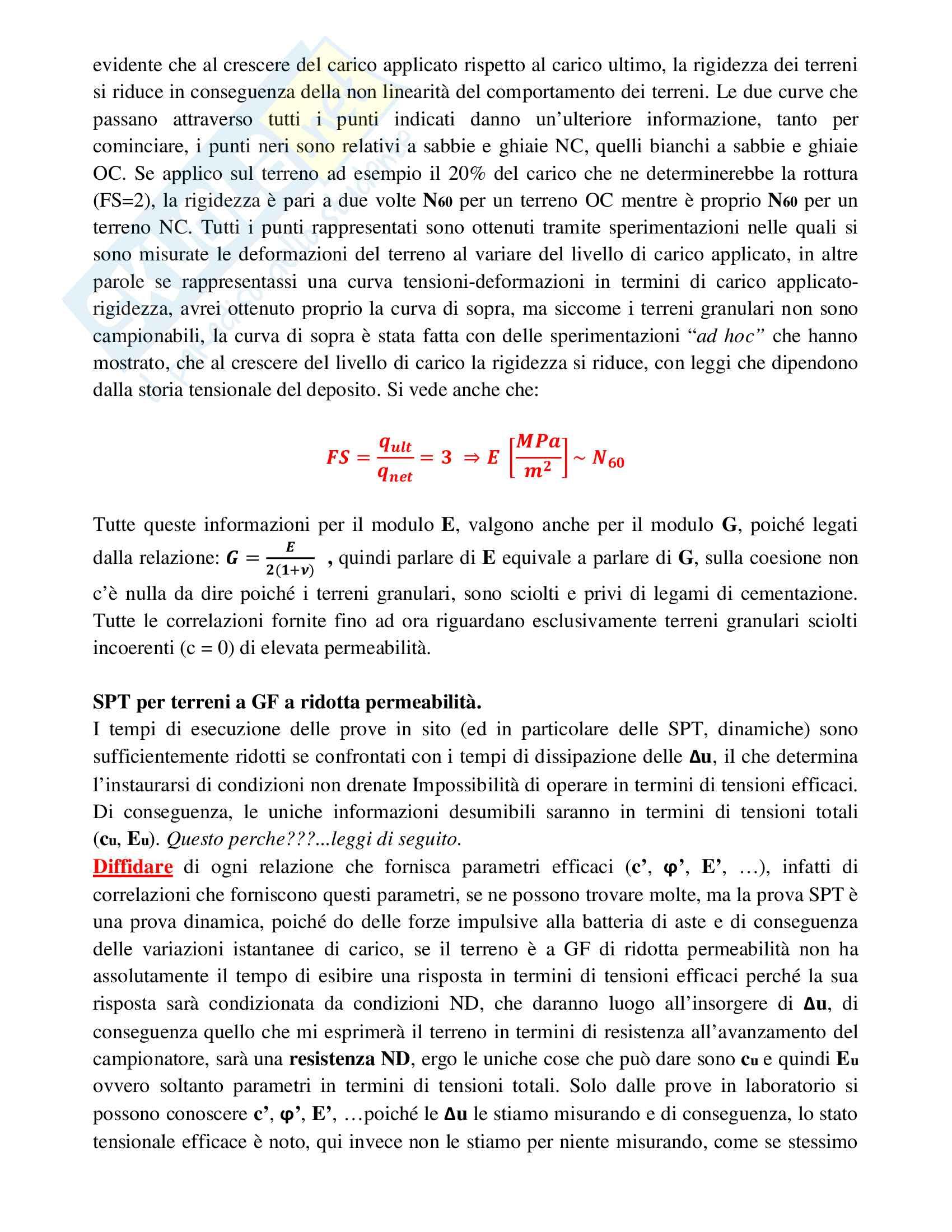 Elementi di Progettazione Geotecnica Pag. 26