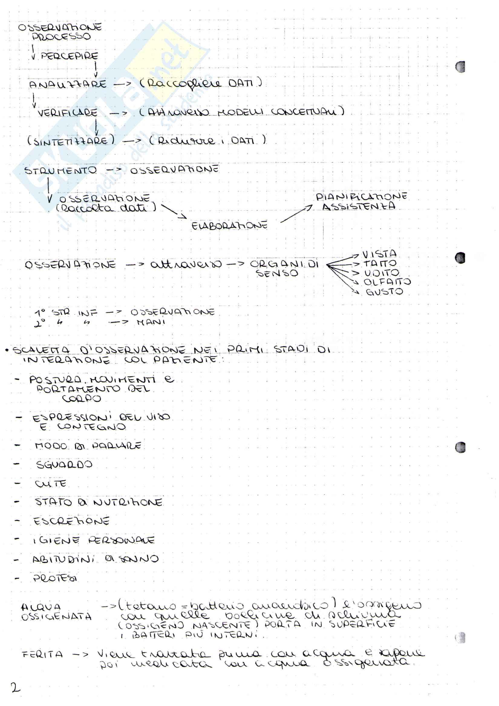 Infermieristica I - Infermieristica clinica Pag. 2