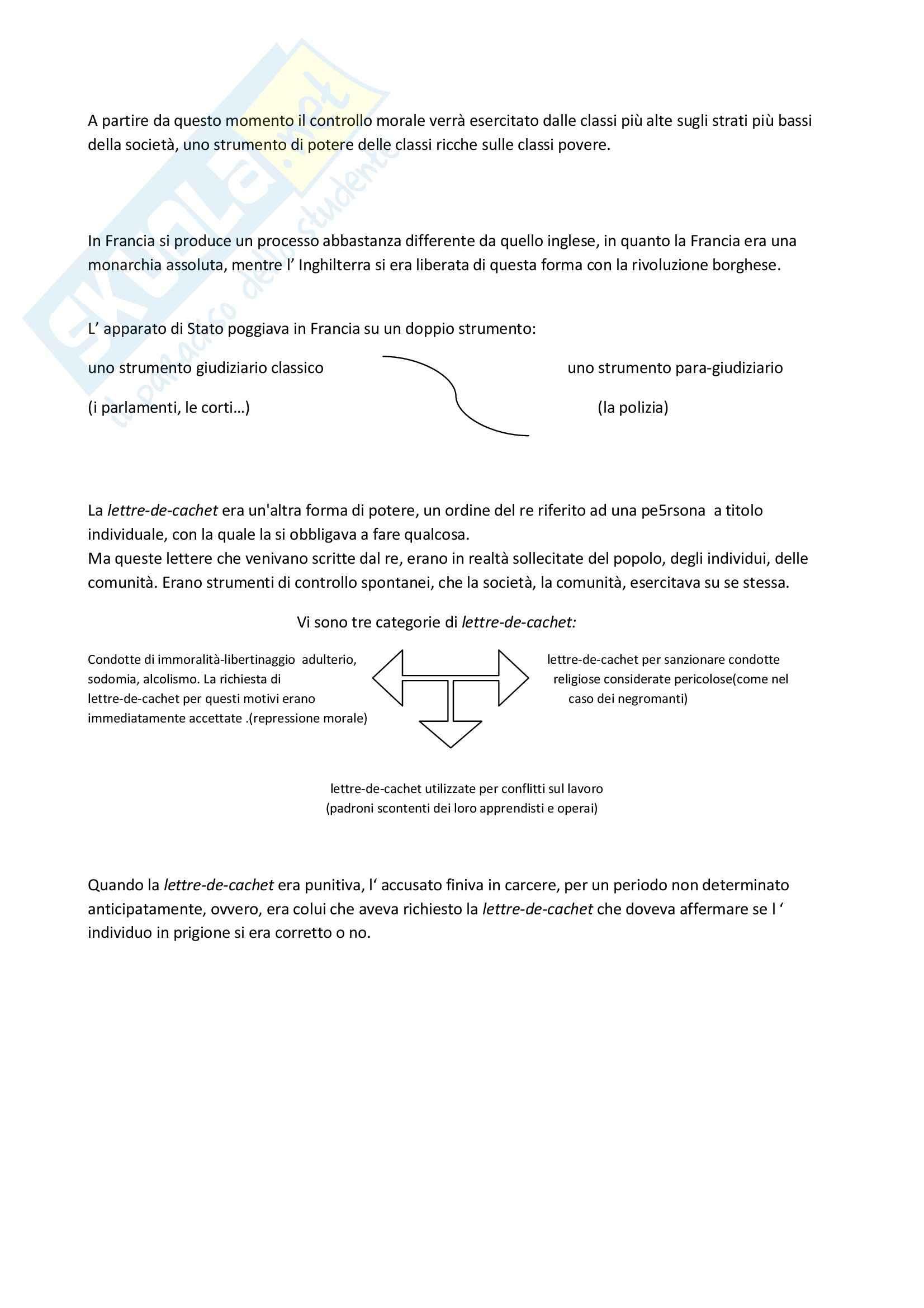 Riassunto esame Sociologia Giuridica, prof. indefinito, libro consigliato La Verità e le Forme Giuridiche, Foucault Pag. 11