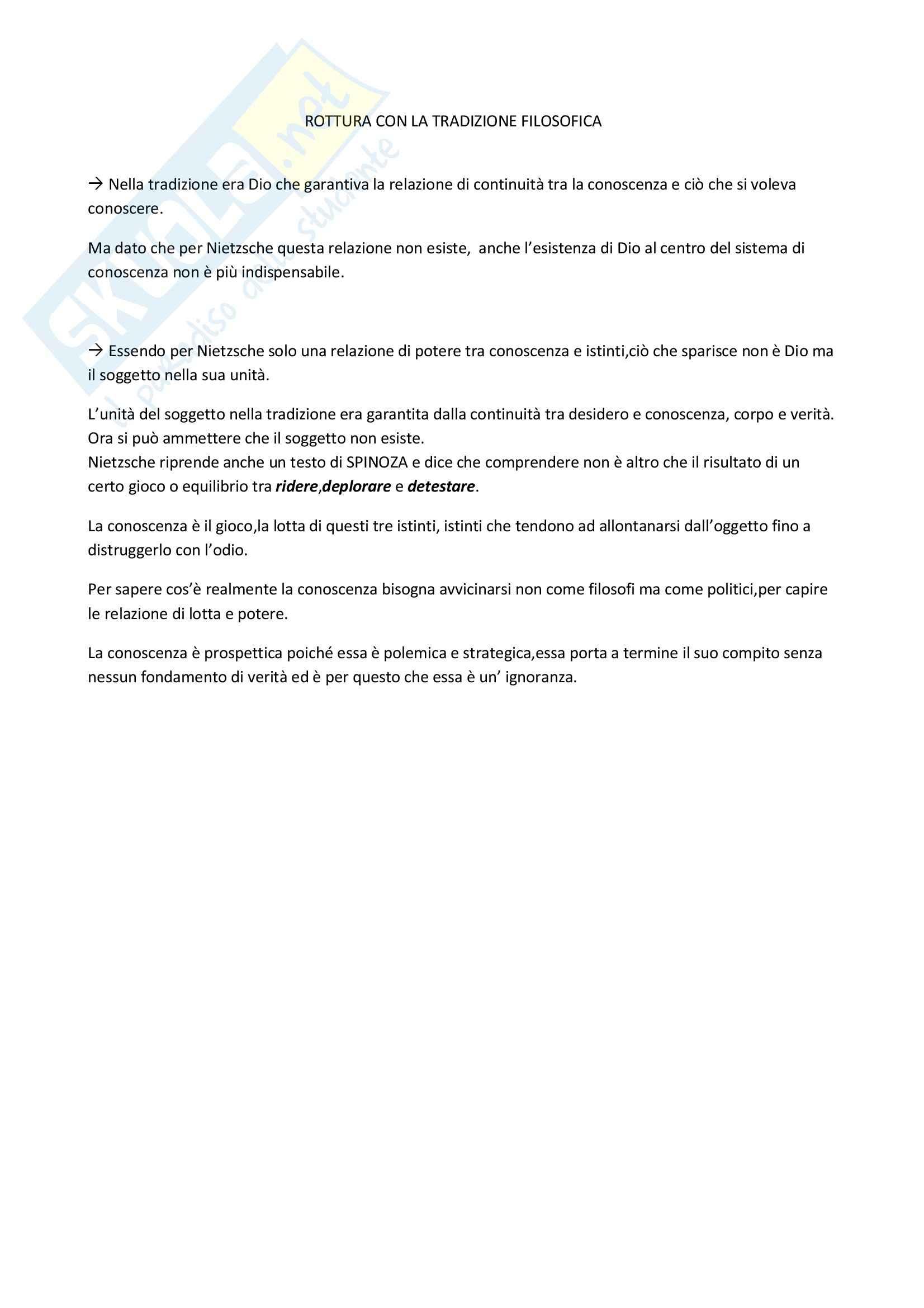 Riassunto esame Sociologia Giuridica, prof. indefinito, libro consigliato La Verità e le Forme Giuridiche, Foucault Pag. 2