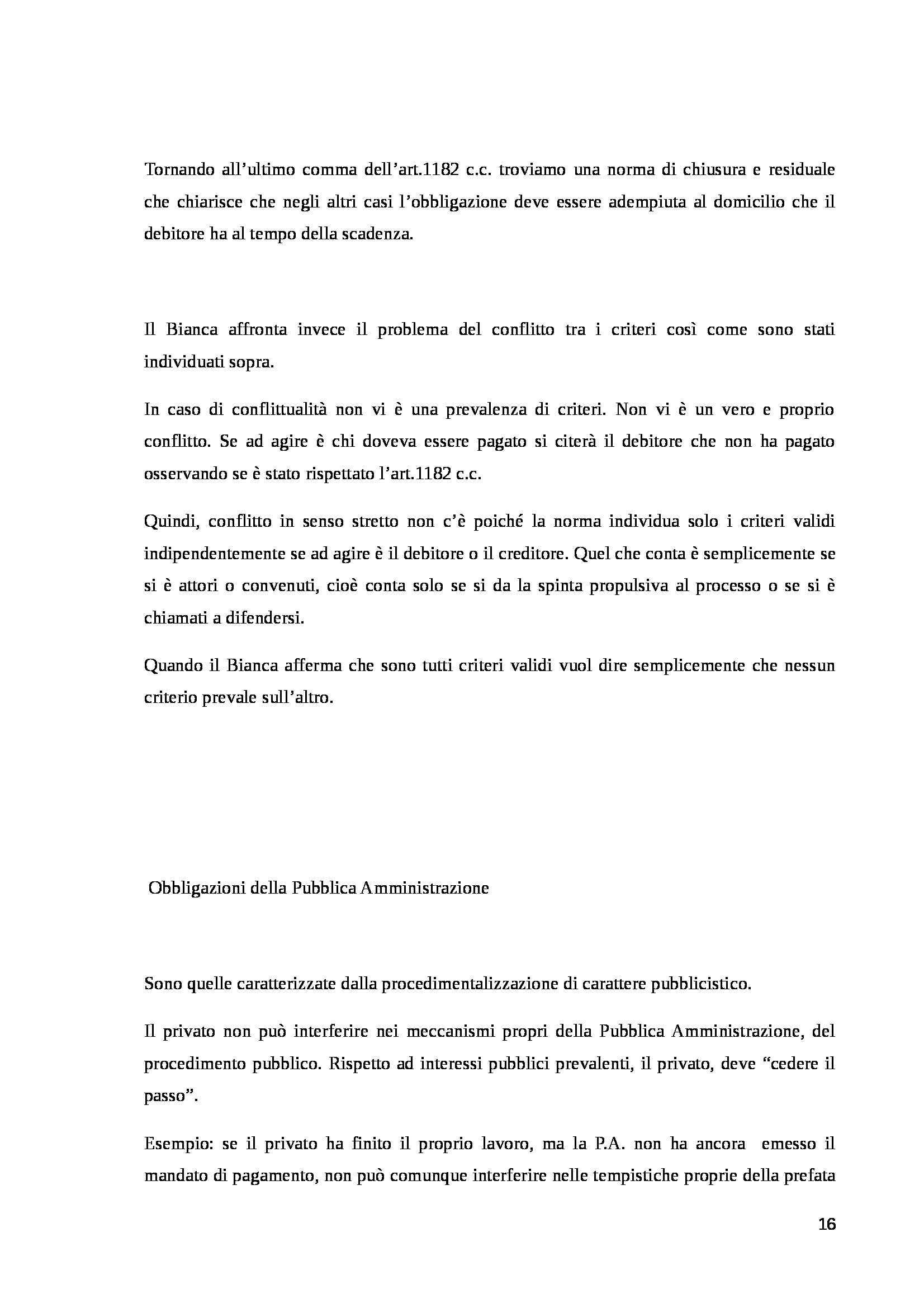 Riassunto esame Diritto Civile: sulle obbligazioni, prof. Grassi Pag. 16