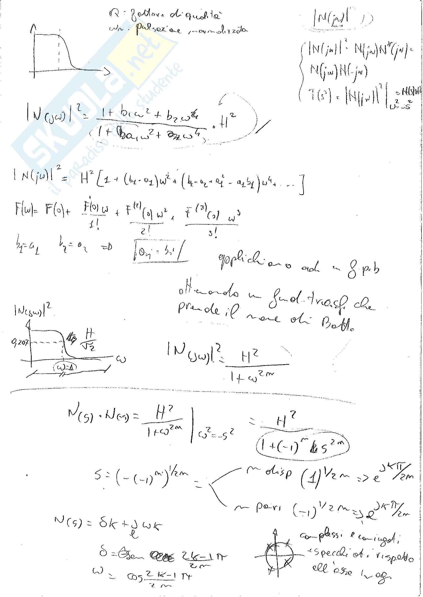 Teoria dei circuiti - Appunti
