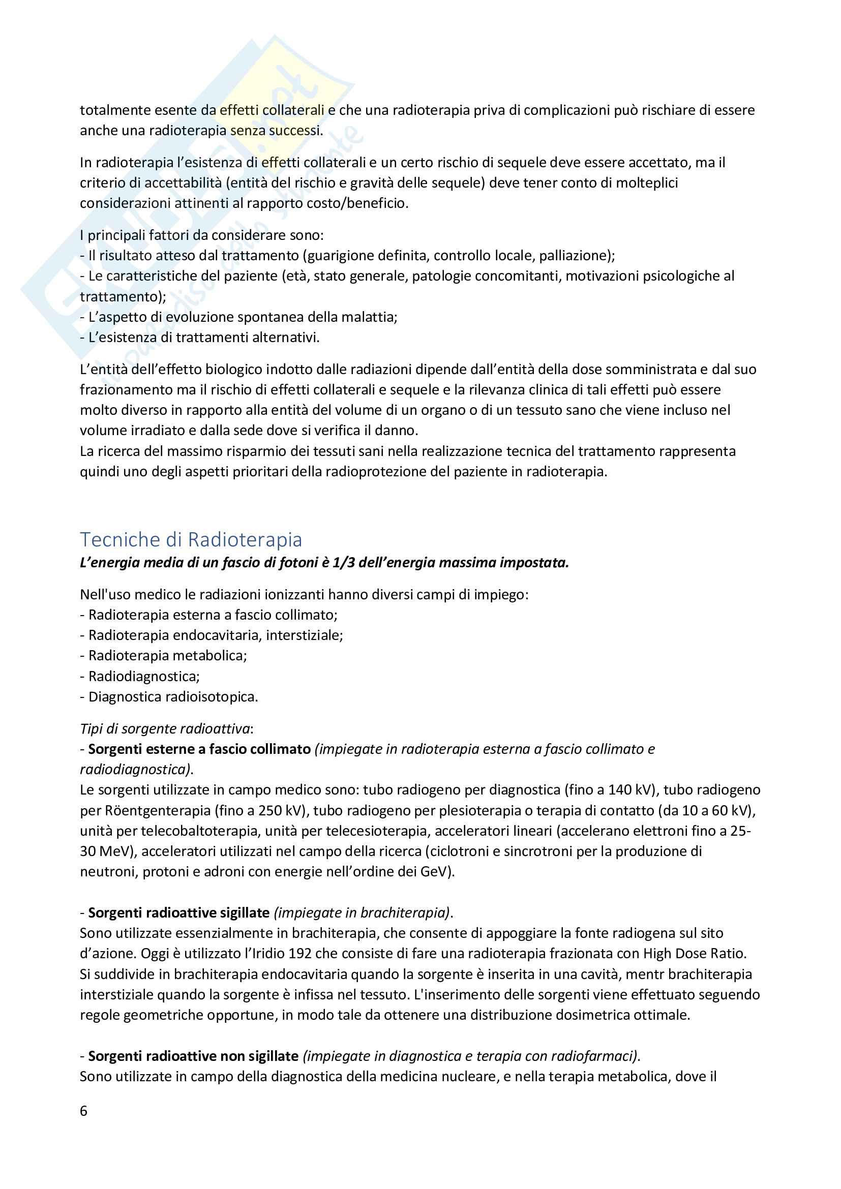 Apparecchiature Radioterapia Pag. 6