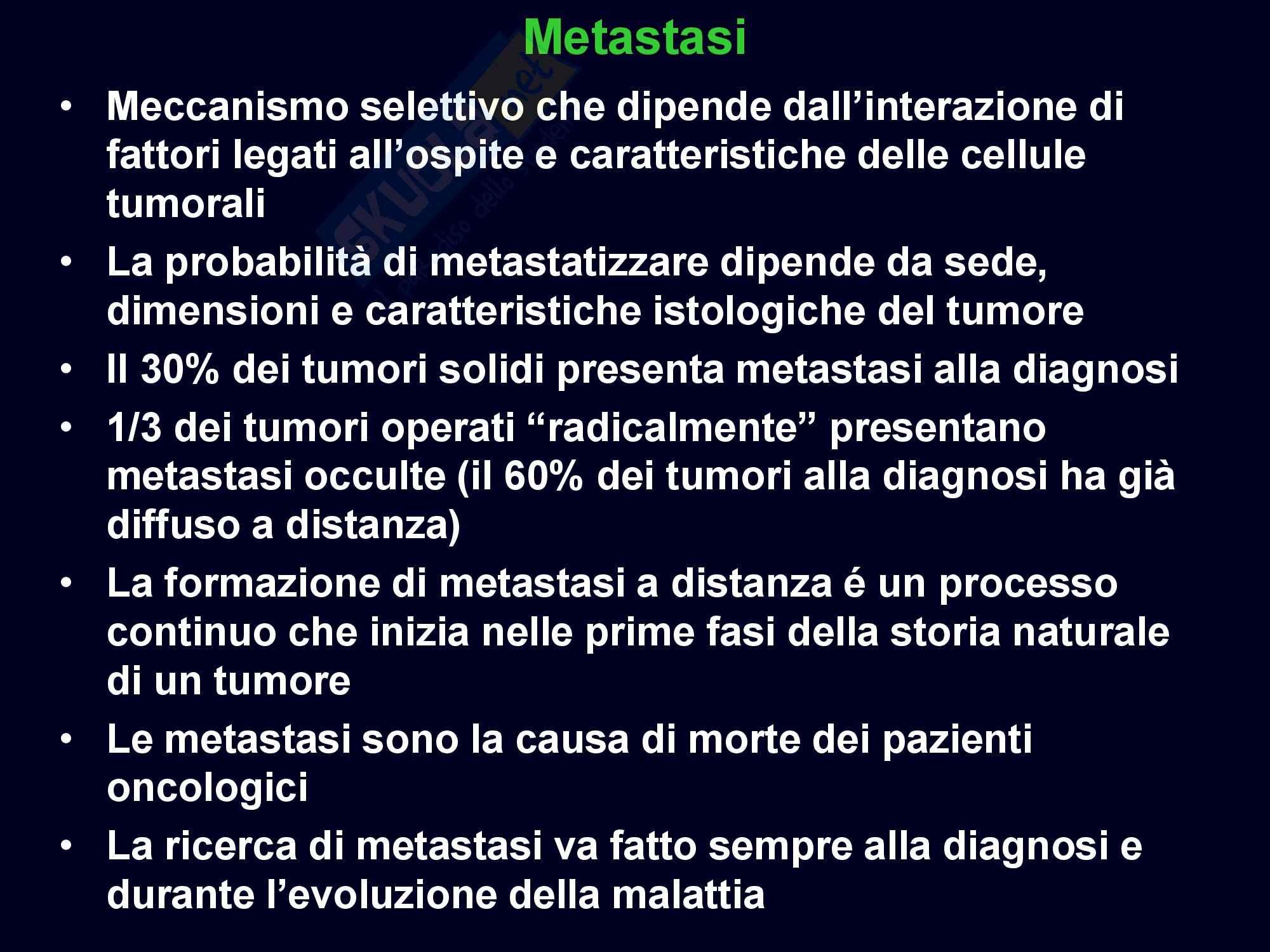 dispensa M. Landriscina Oncologia Clinica