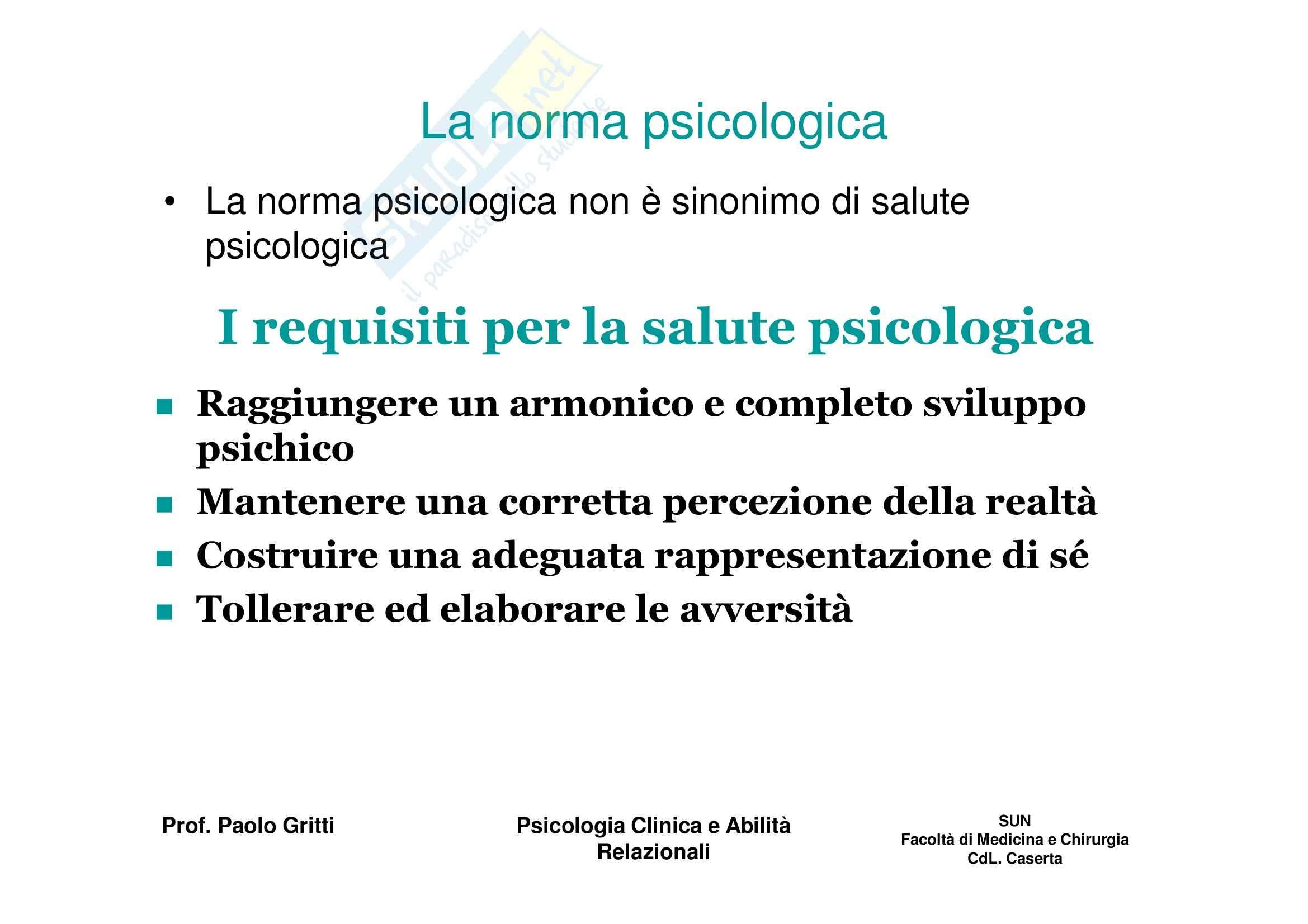 Psicologia clinica ed etica medica - Appunti Pag. 2