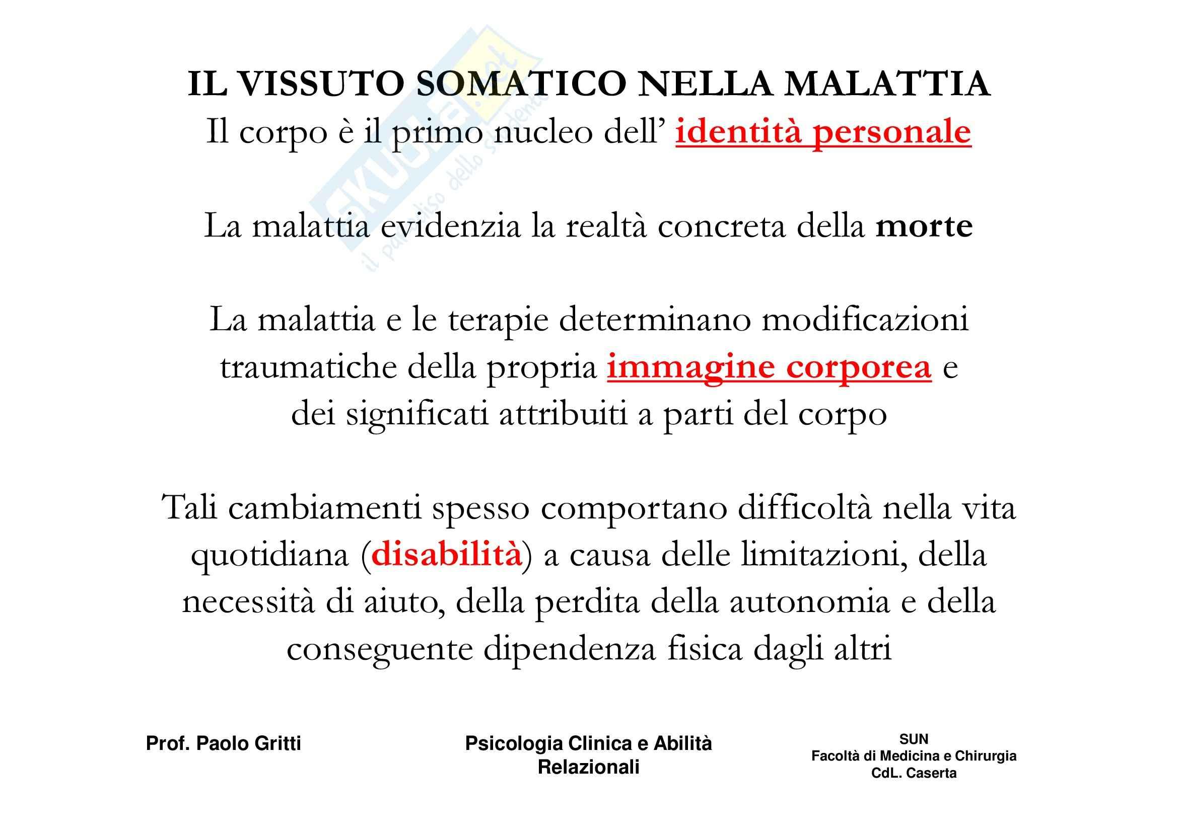 Psicologia clinica ed etica medica - Appunti Pag. 26