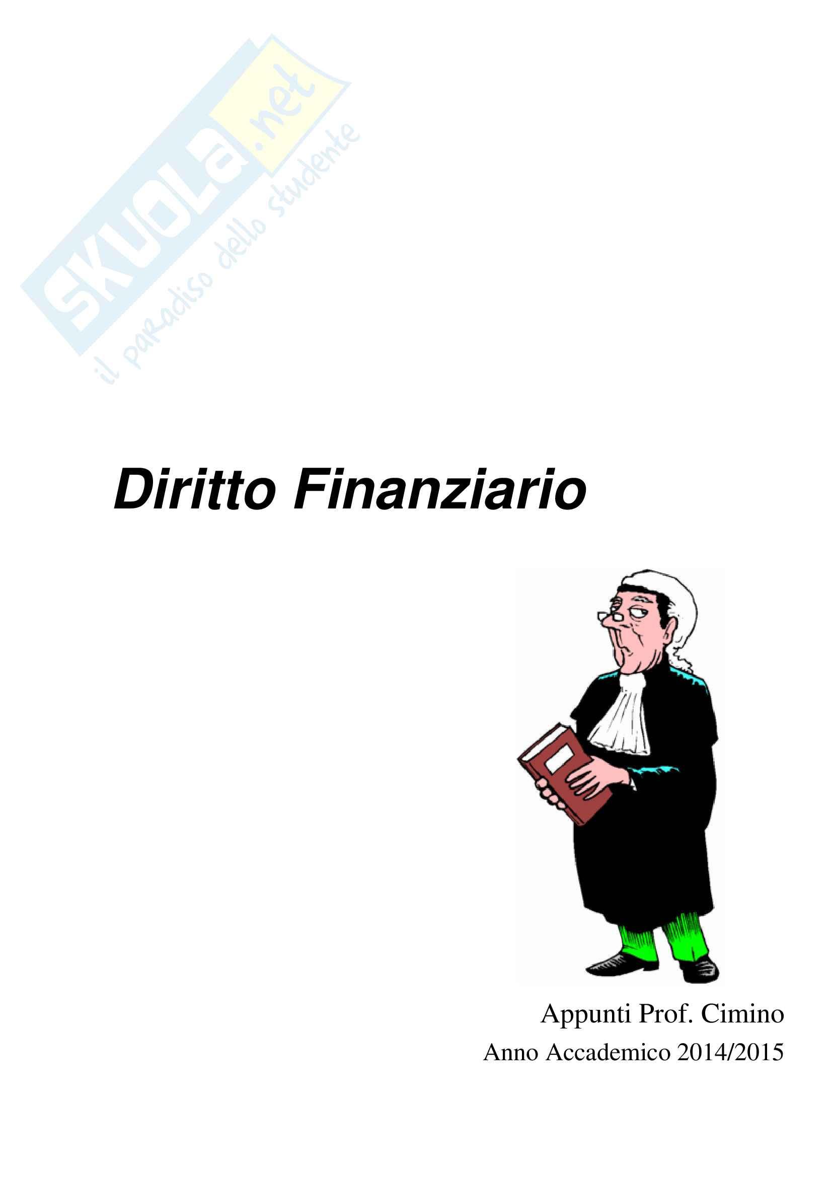 Diritto Finanziario