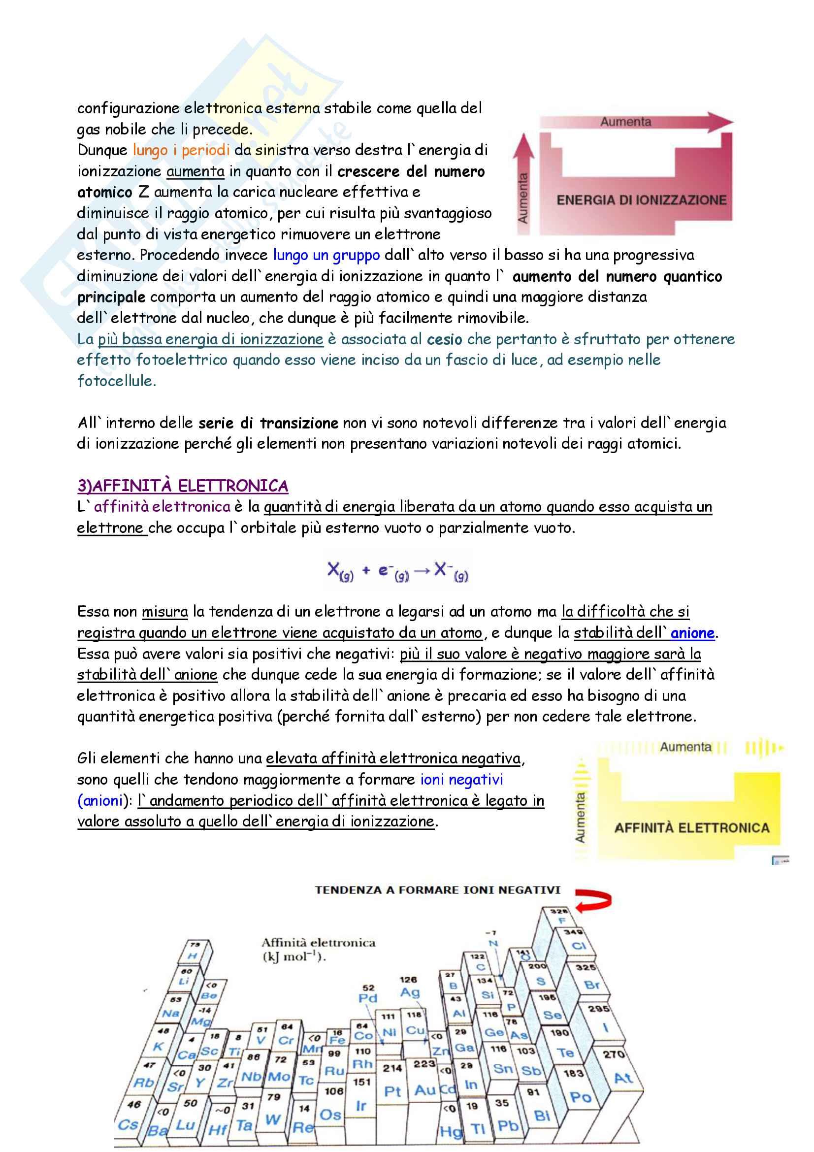 Riassunto esame Chimica generale e inorganica, prof. Francia, libro consigliato Fondamenti di chimica, Schiavello, Palmisano Pag. 16