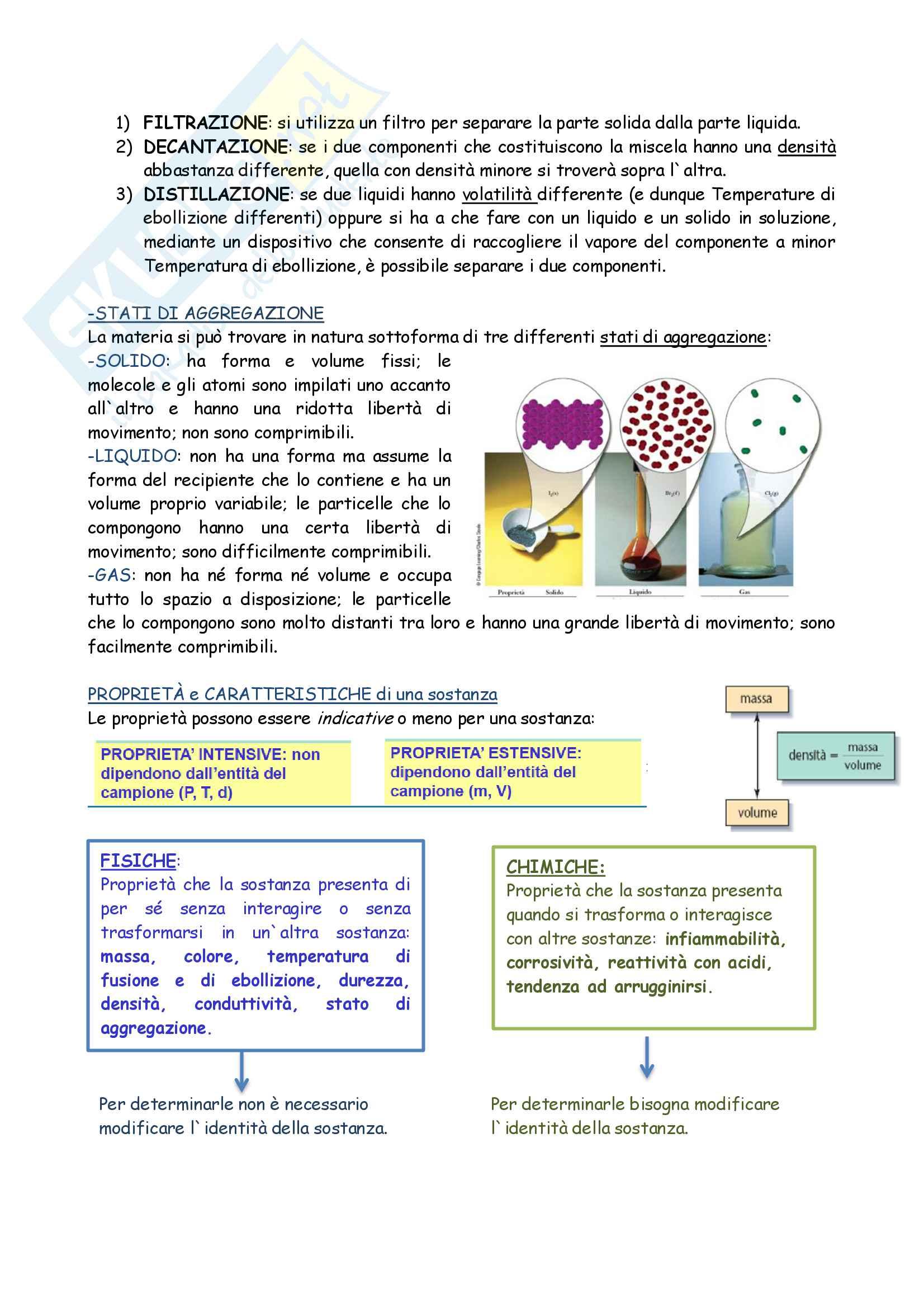 Riassunto esame Chimica generale e inorganica, prof. Francia, libro consigliato Fondamenti di chimica, Schiavello, Palmisano Pag. 2
