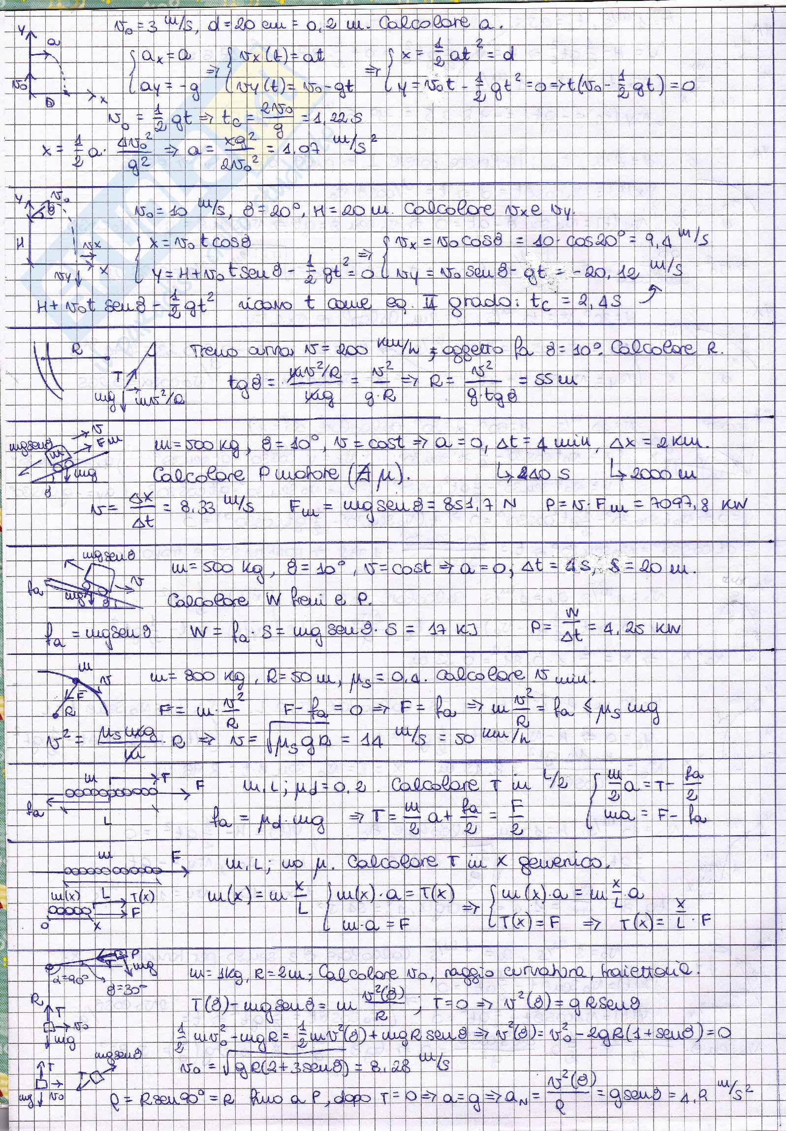 Esercizi di fisica Pag. 2