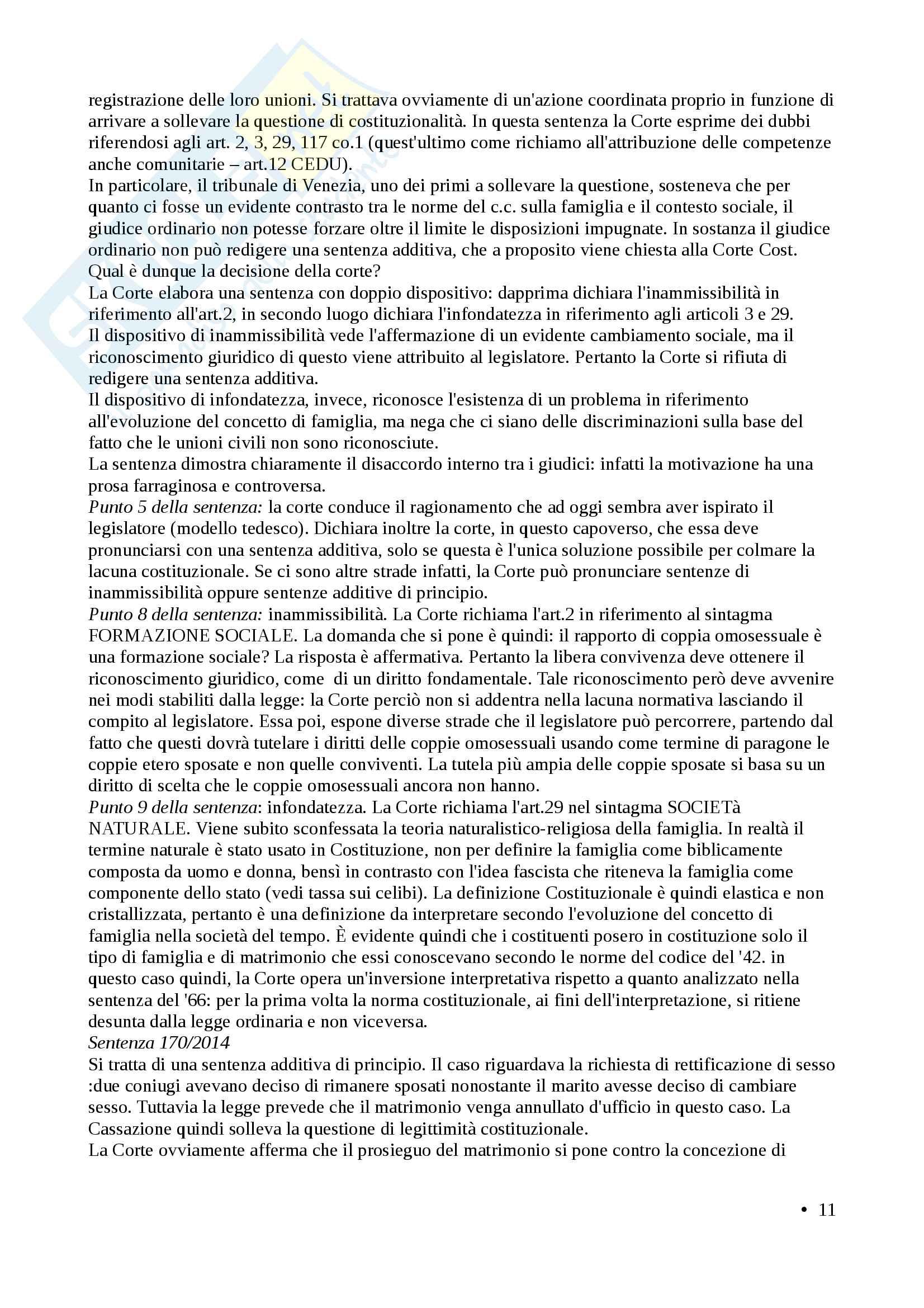 Appunti diritto costituzionale II (prof. Brunelli) Pag. 11