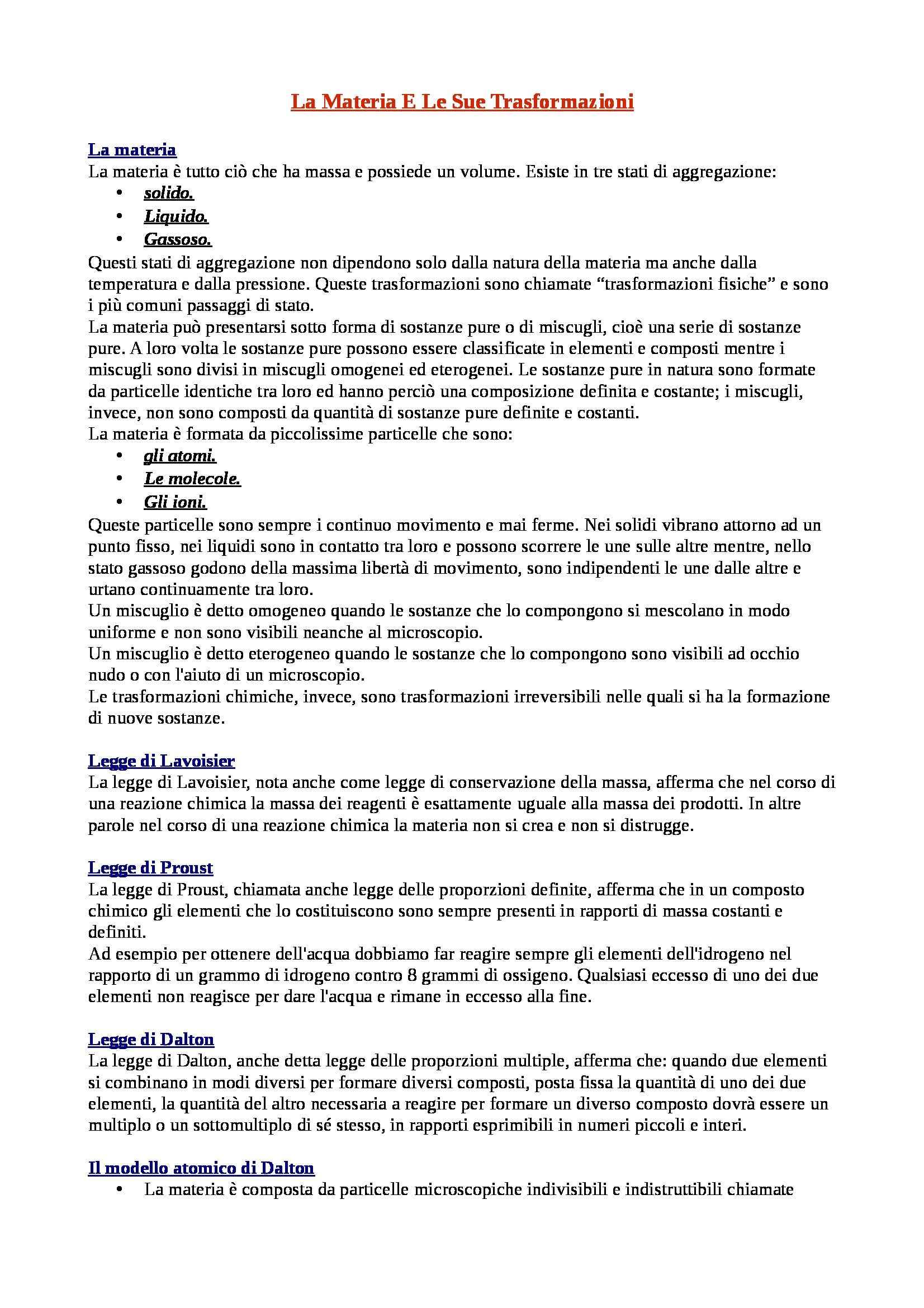 Riassunto esame Chimica e Propedeutica Biochimica, prof. Agostini, libro consigliato Chimica, Biochimica e Biologia Applicata di Taddei