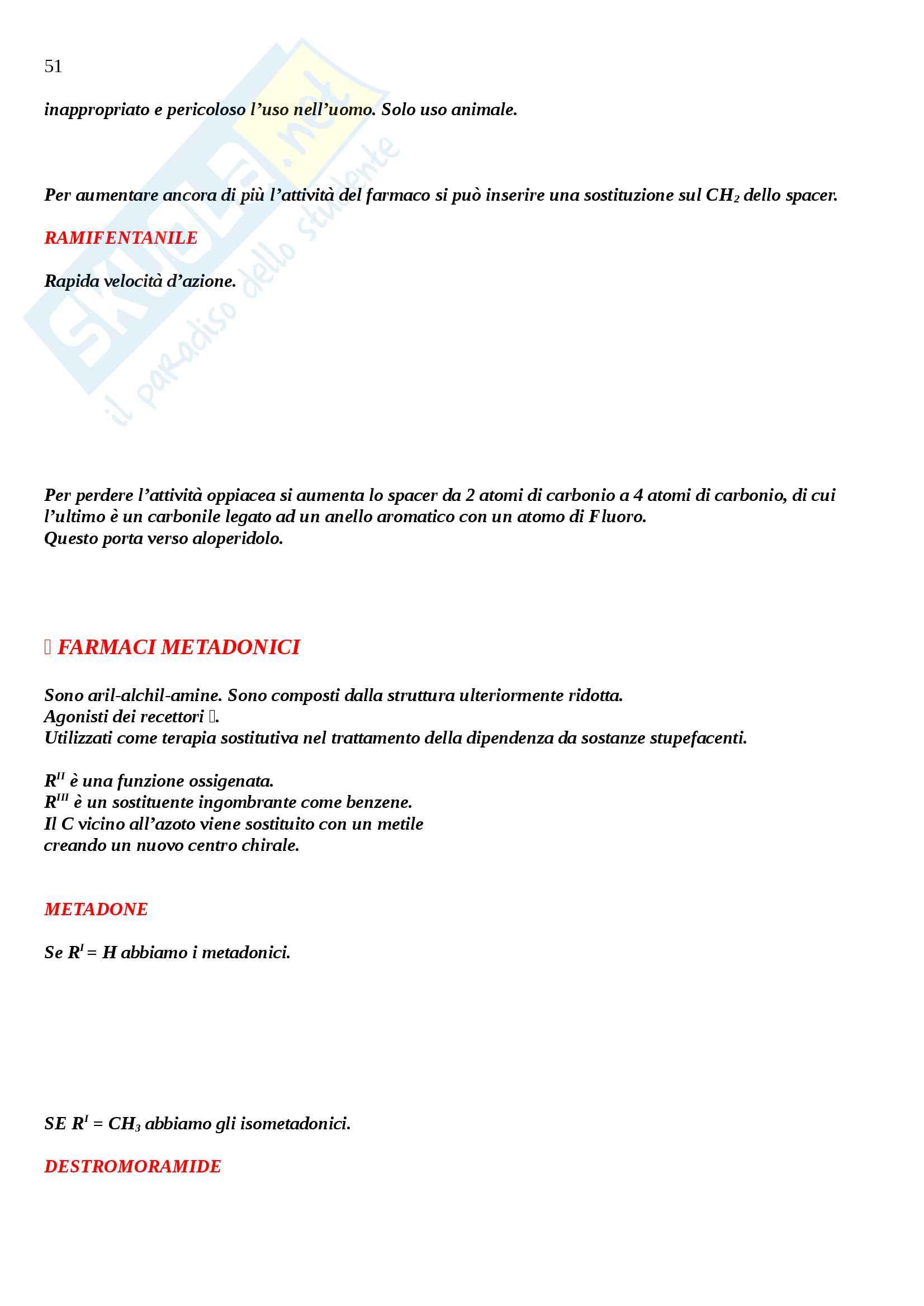 Chimica farmaceutica 2 Pag. 51