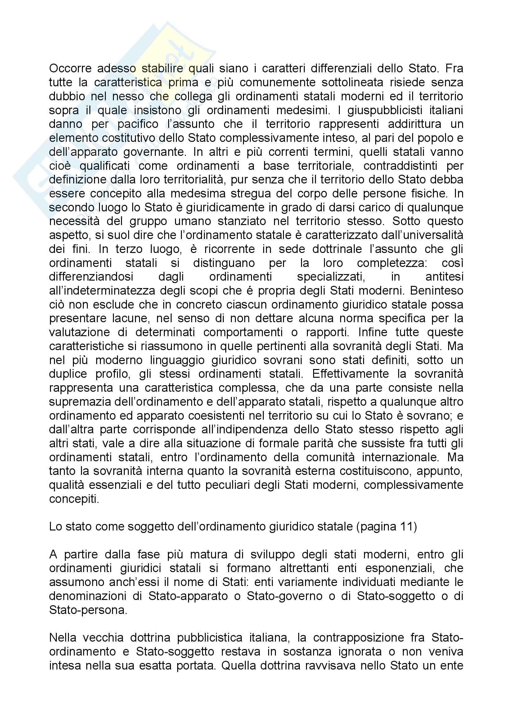 Riassunto esame Diritto Costituzionale, prof. Olivetti Pag. 2