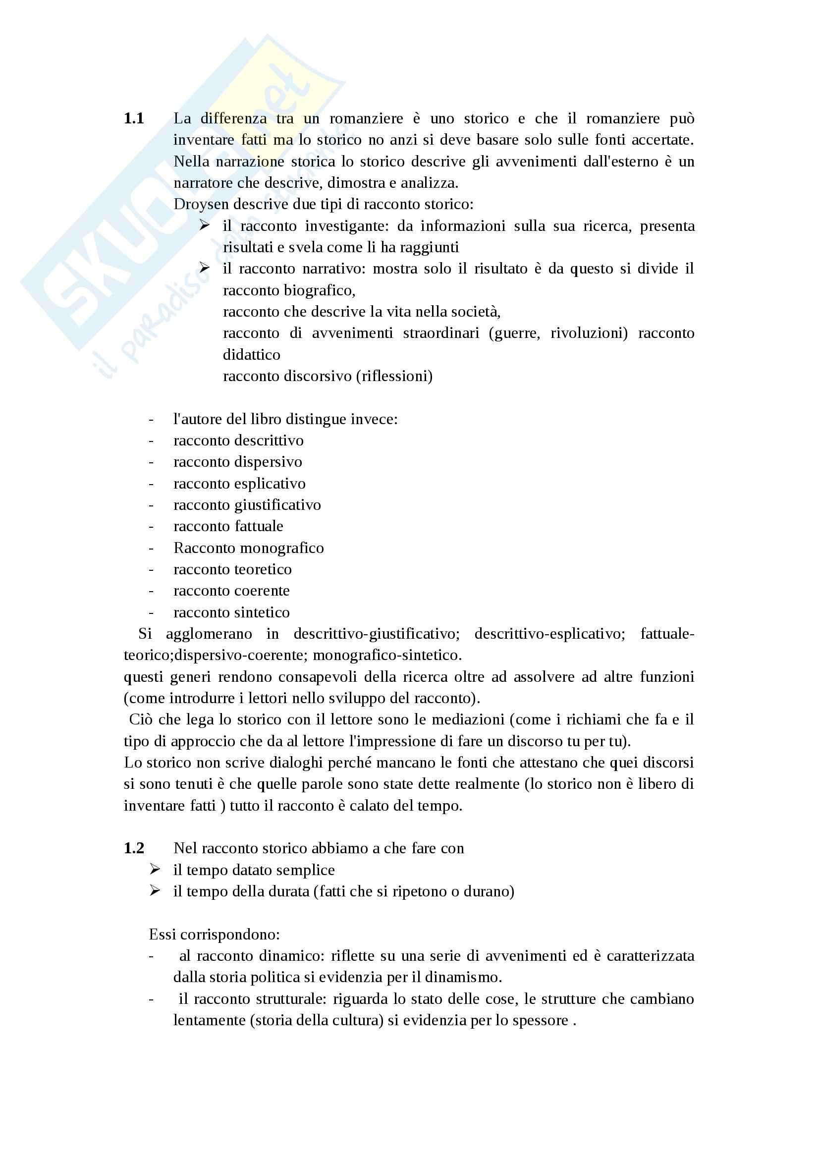Riassunto esame Metodologia della ricerca storica, prof. Merluzzi, libro consigliato Narrare la storia di Topolski