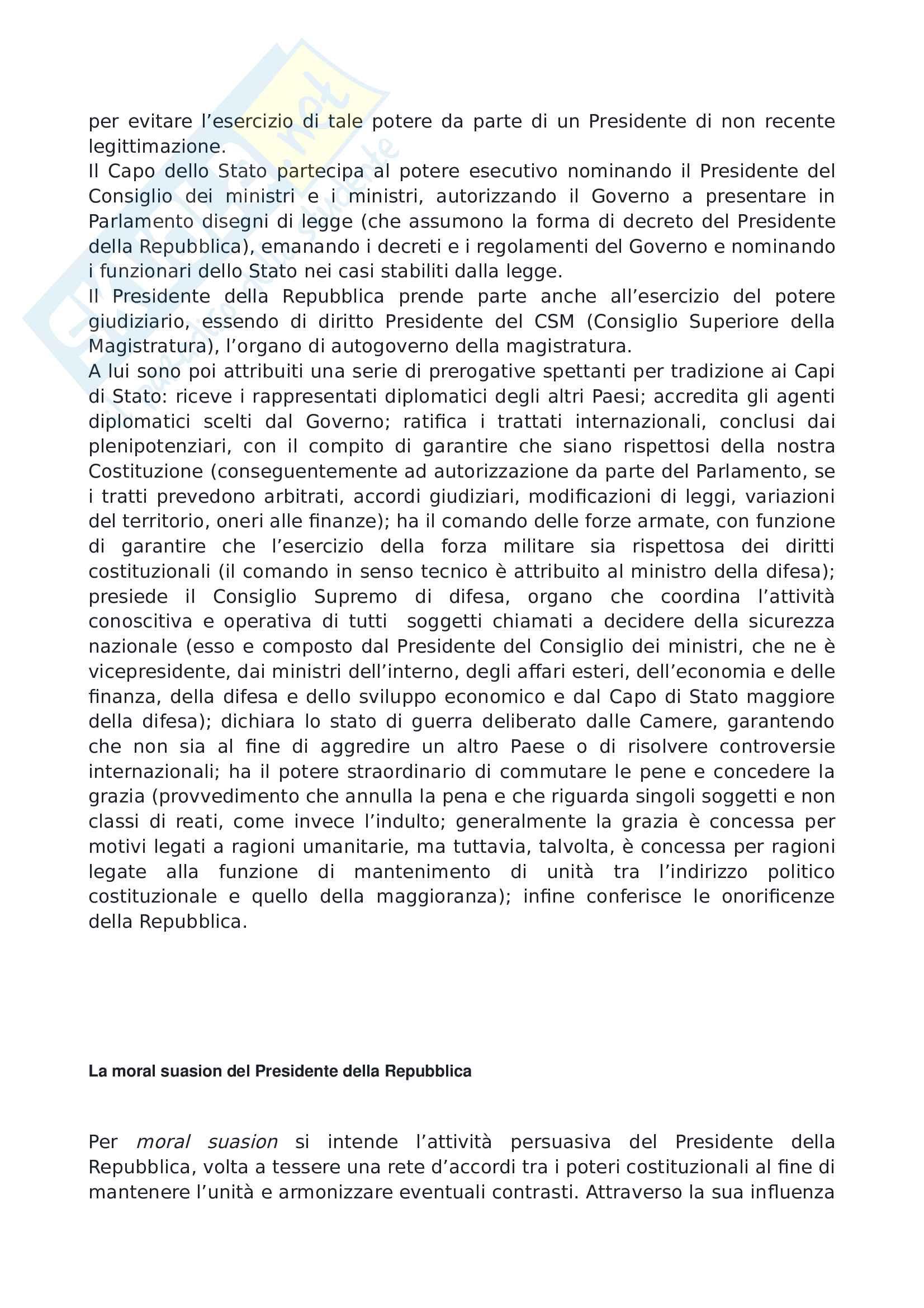 Domande di diritto costituzionale Pag. 21