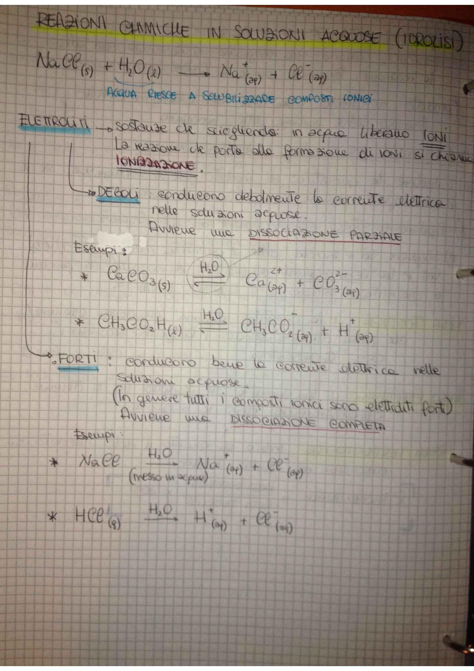 Fondamenti di chimica - reazioni chimiche e esercizi sulle ossidoriduzioni Pag. 6