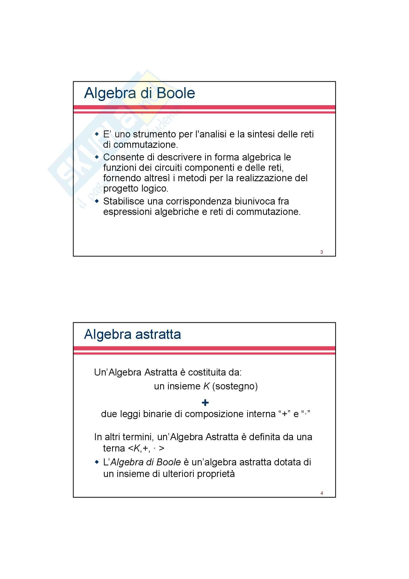 Reti Logiche – Slides Pag. 2