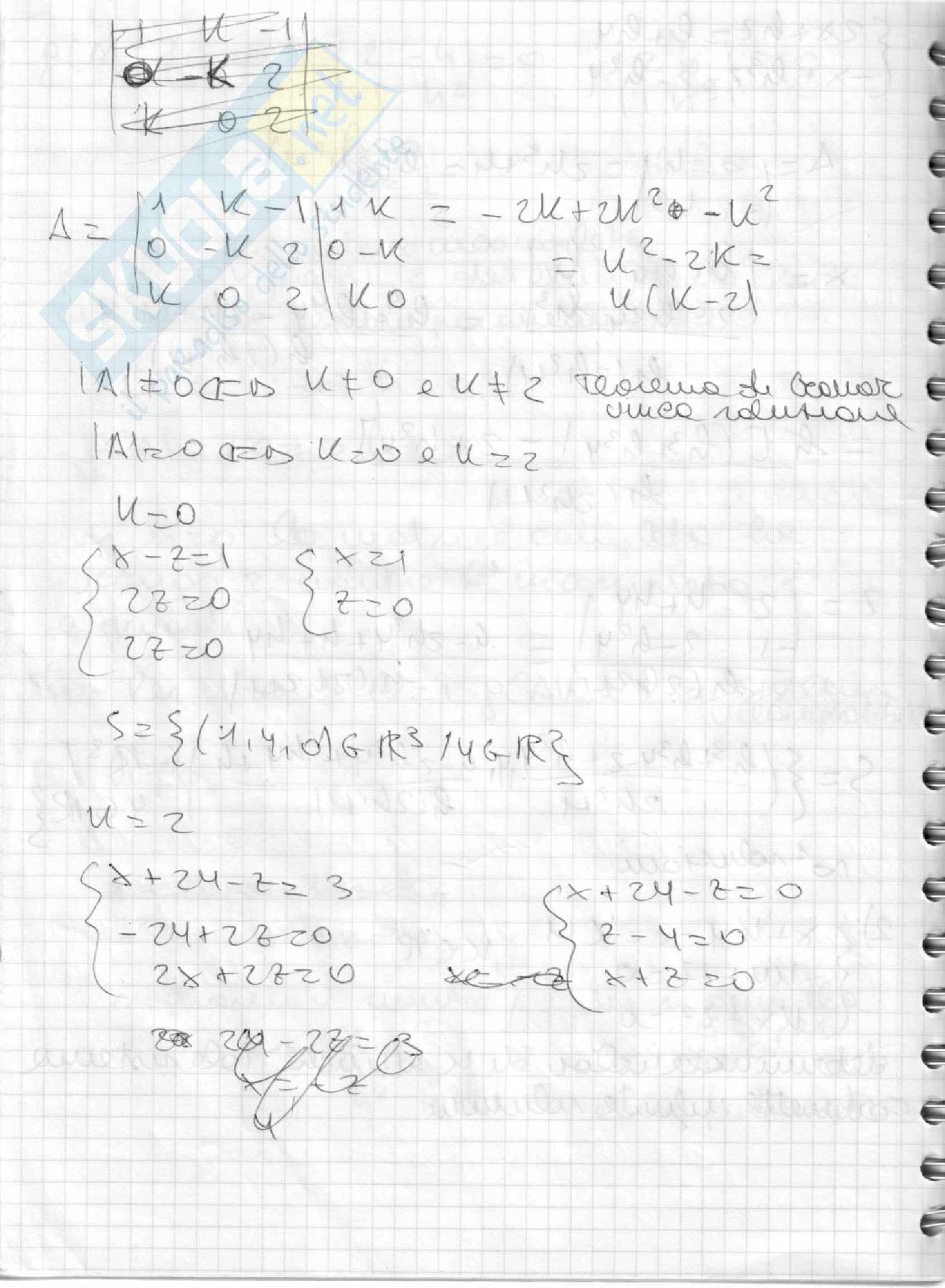 Matrice parametrica